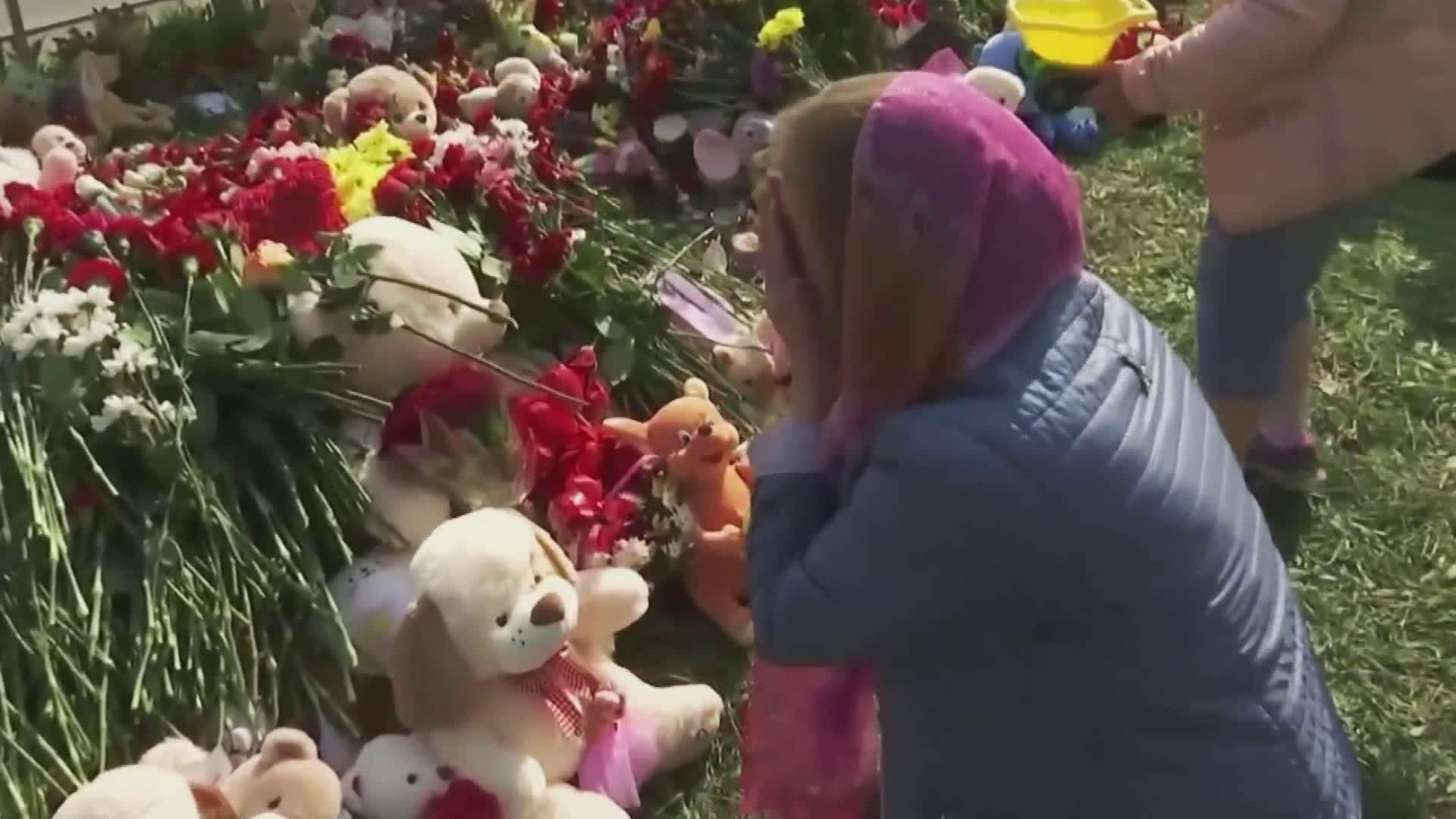 Kazain koulusurma järkytti venäläisiä