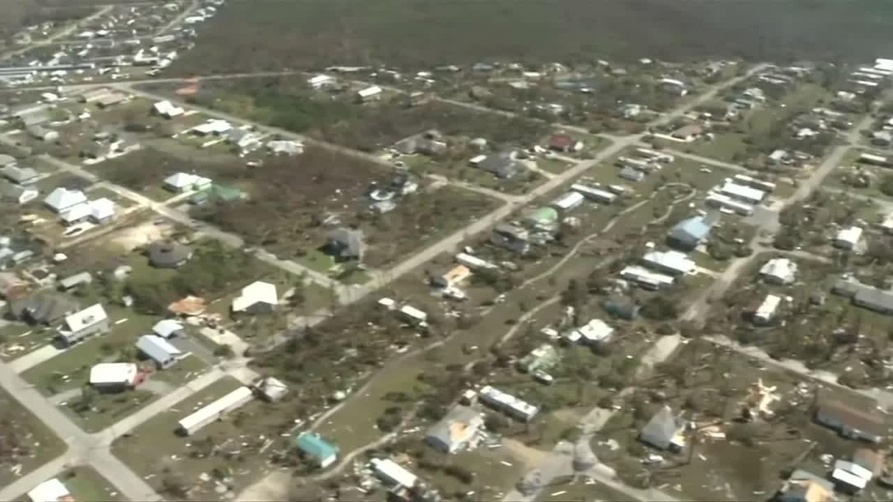 Floridassa Michael-myrskyn uhreja etsitään helikoptereilla