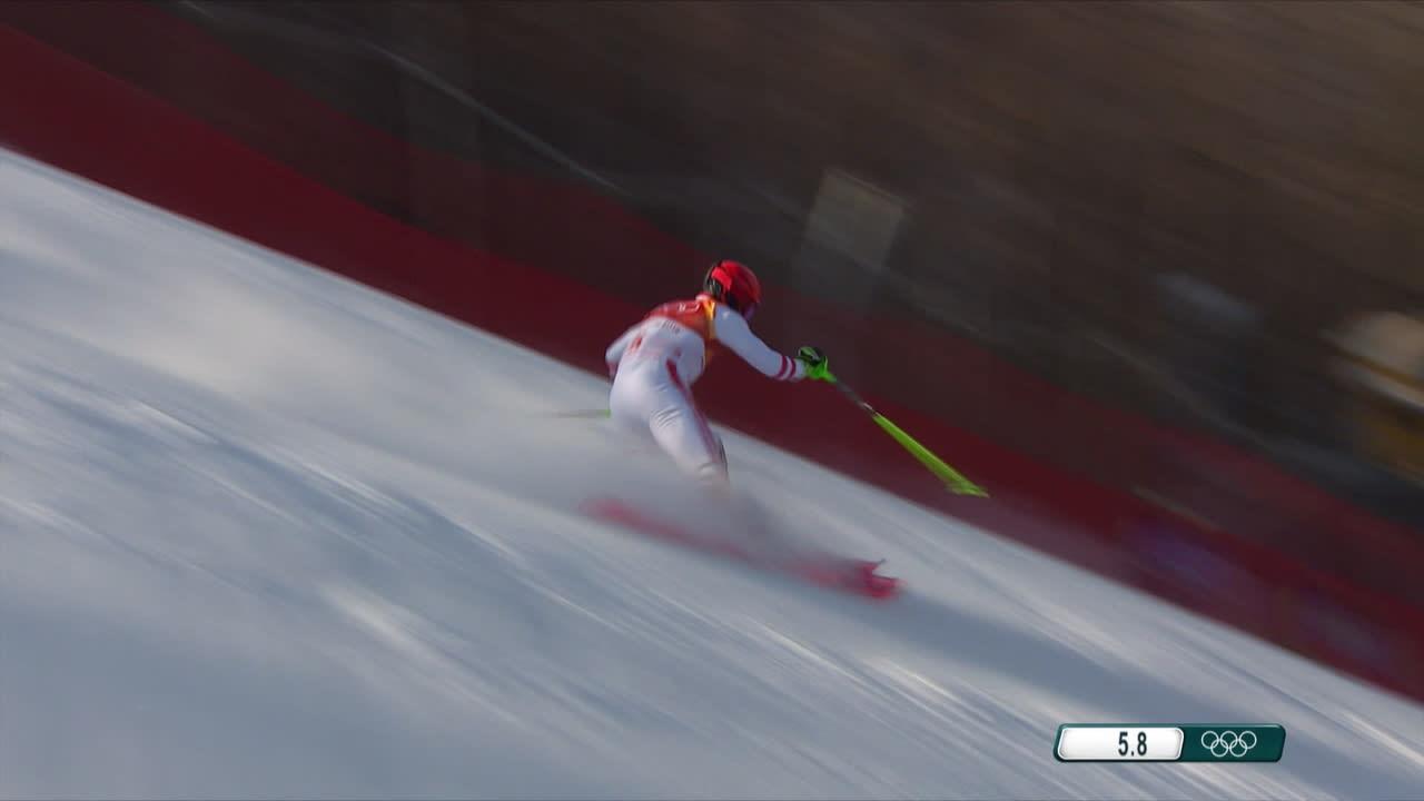 Korean olympialaiset: Hirscher laski ulos pujottelussa