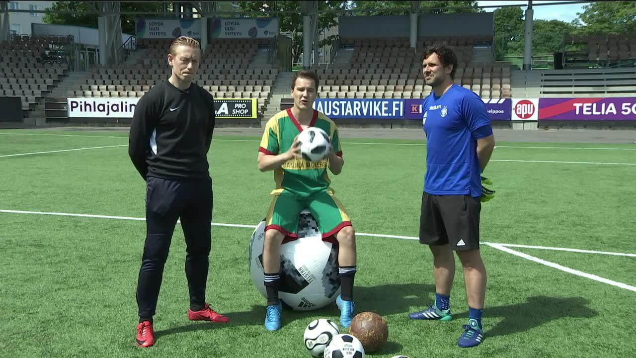 Yle testasi virallisen MM-kisapallon – sekä joukon vanhoja klassikoita