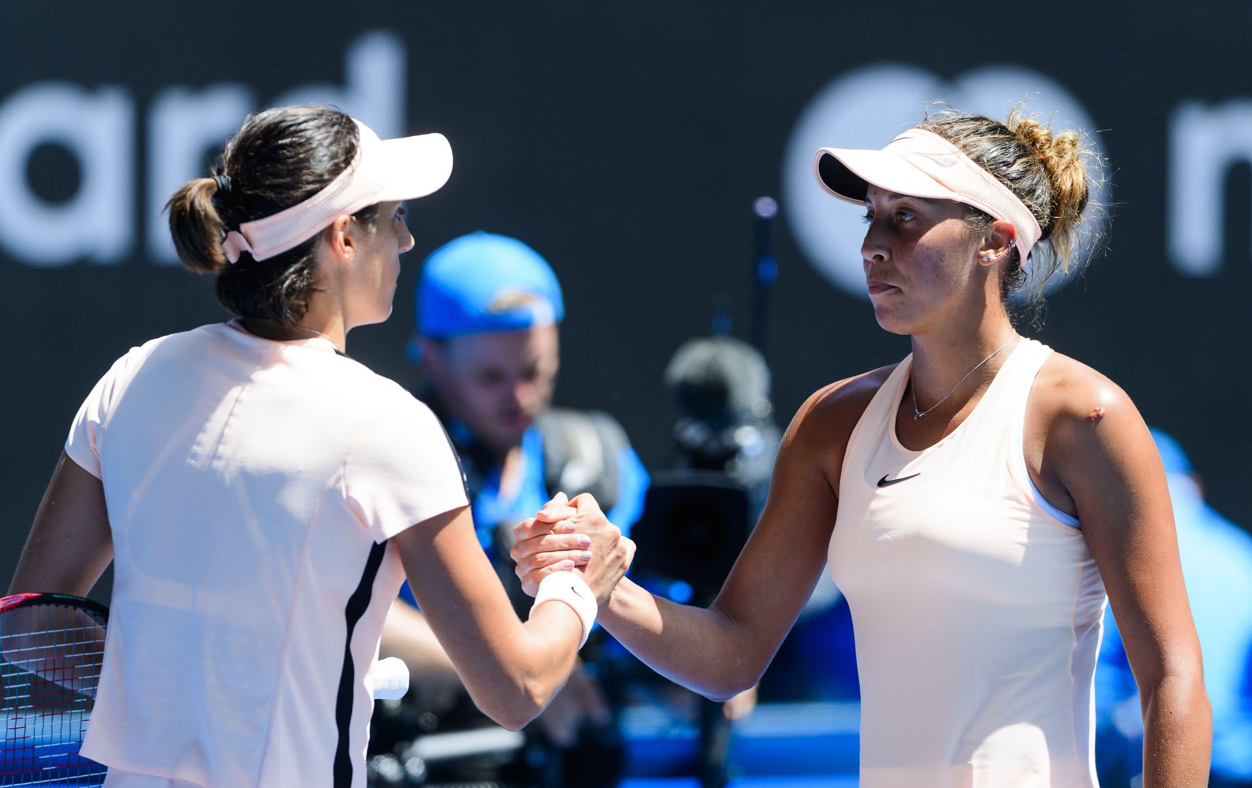 Caroline Garcia ja Madison Keys.