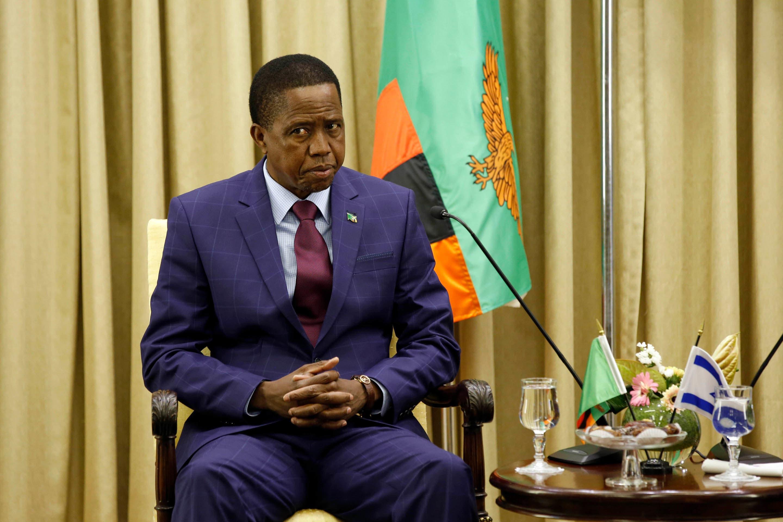 Sambian presidentti Edgar Lungu