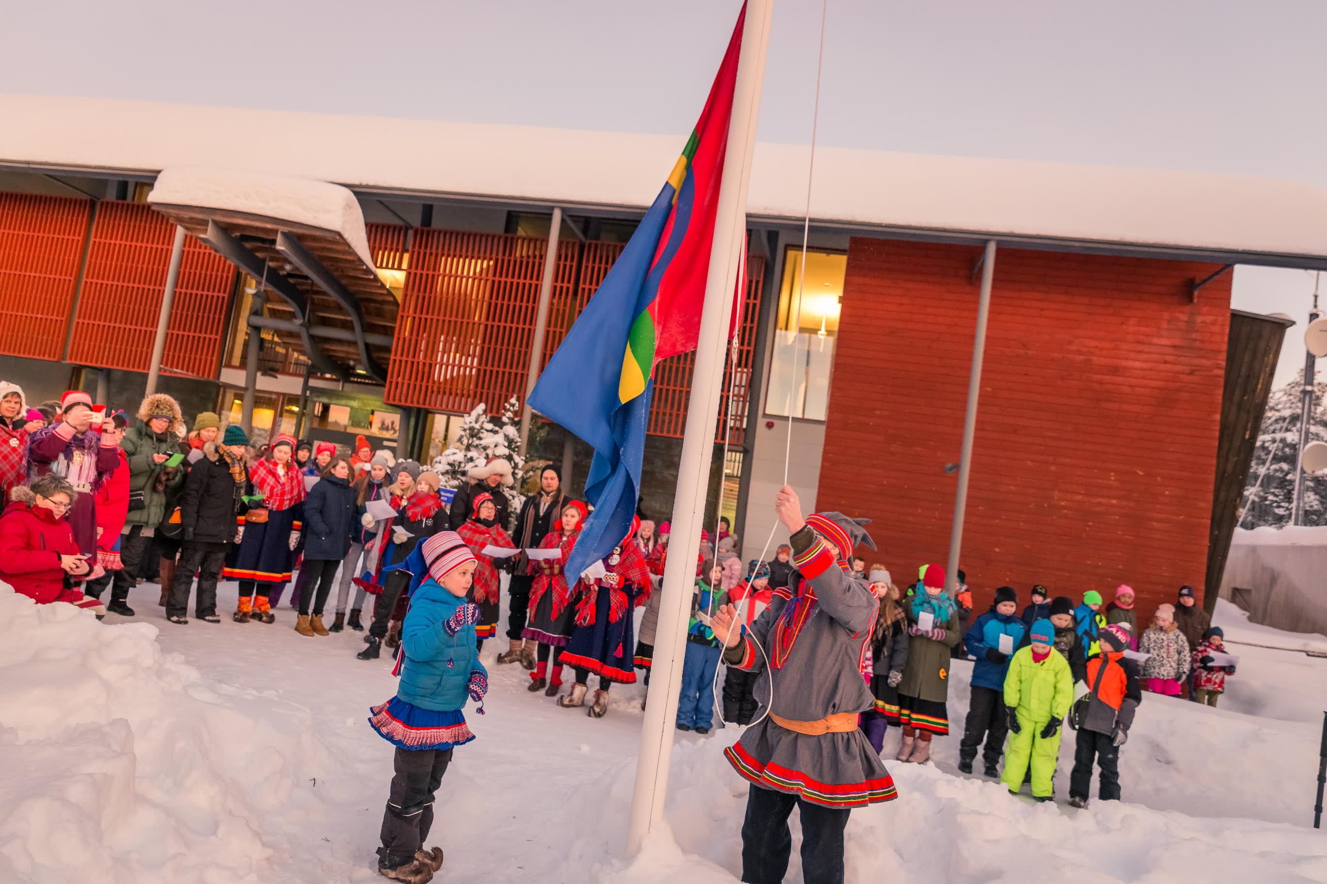 saamelaisten kansallispäivä inarissa 2018