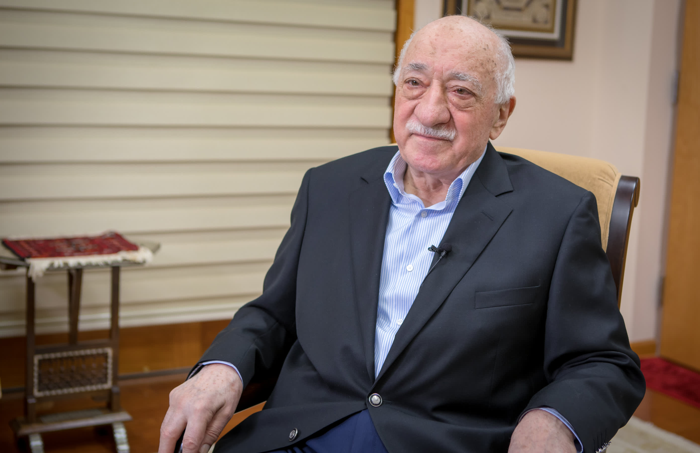 Fethullah Gülen kiistää syytökset osallistuudestaan vuoden 2016 vallankaappaukseen.