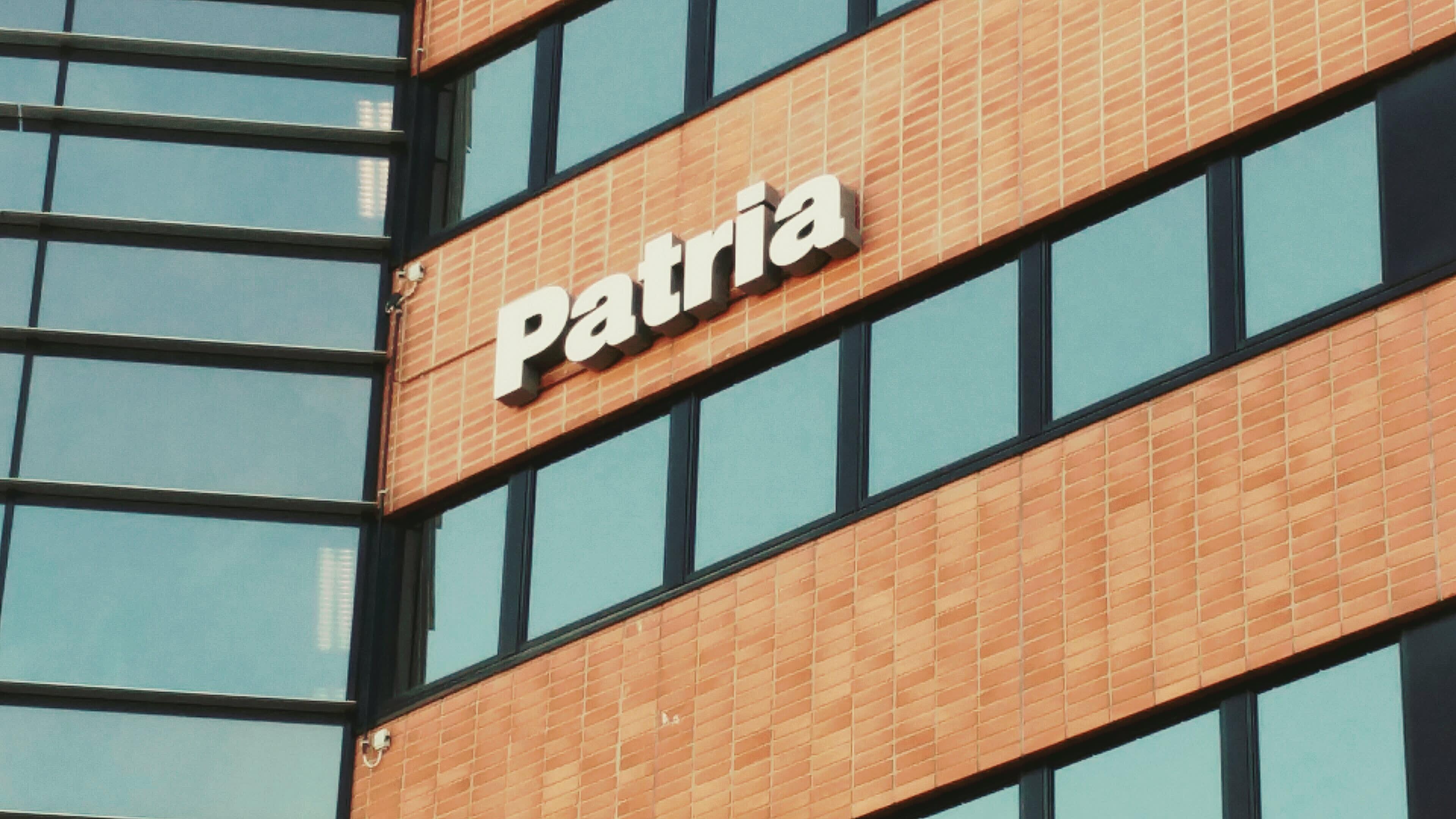 Patrian Hatanpään toimipisteen julkisivu