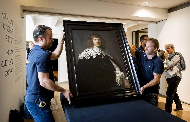 Rembrandtin uudelleen löydettyä teosta asetetaan näytteille amsterdamilaisessa museossa.