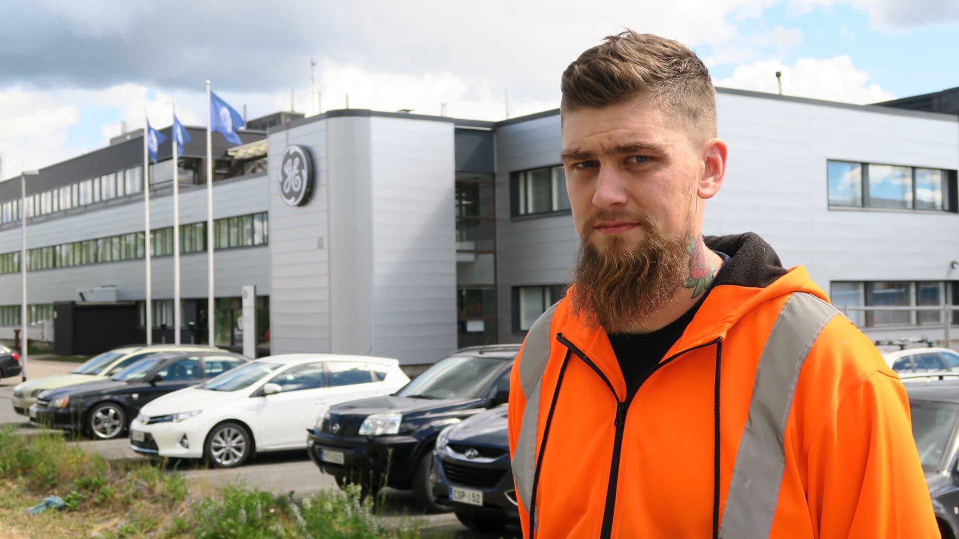 Pääluottamusmies Marko Matilainen