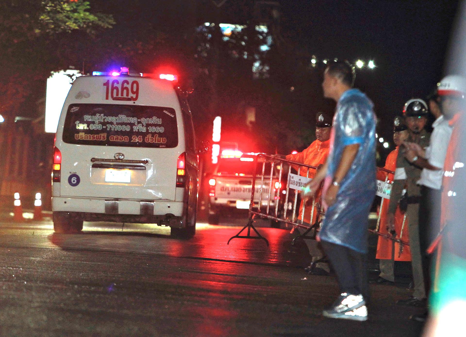Ambulanssi Sairaalalla
