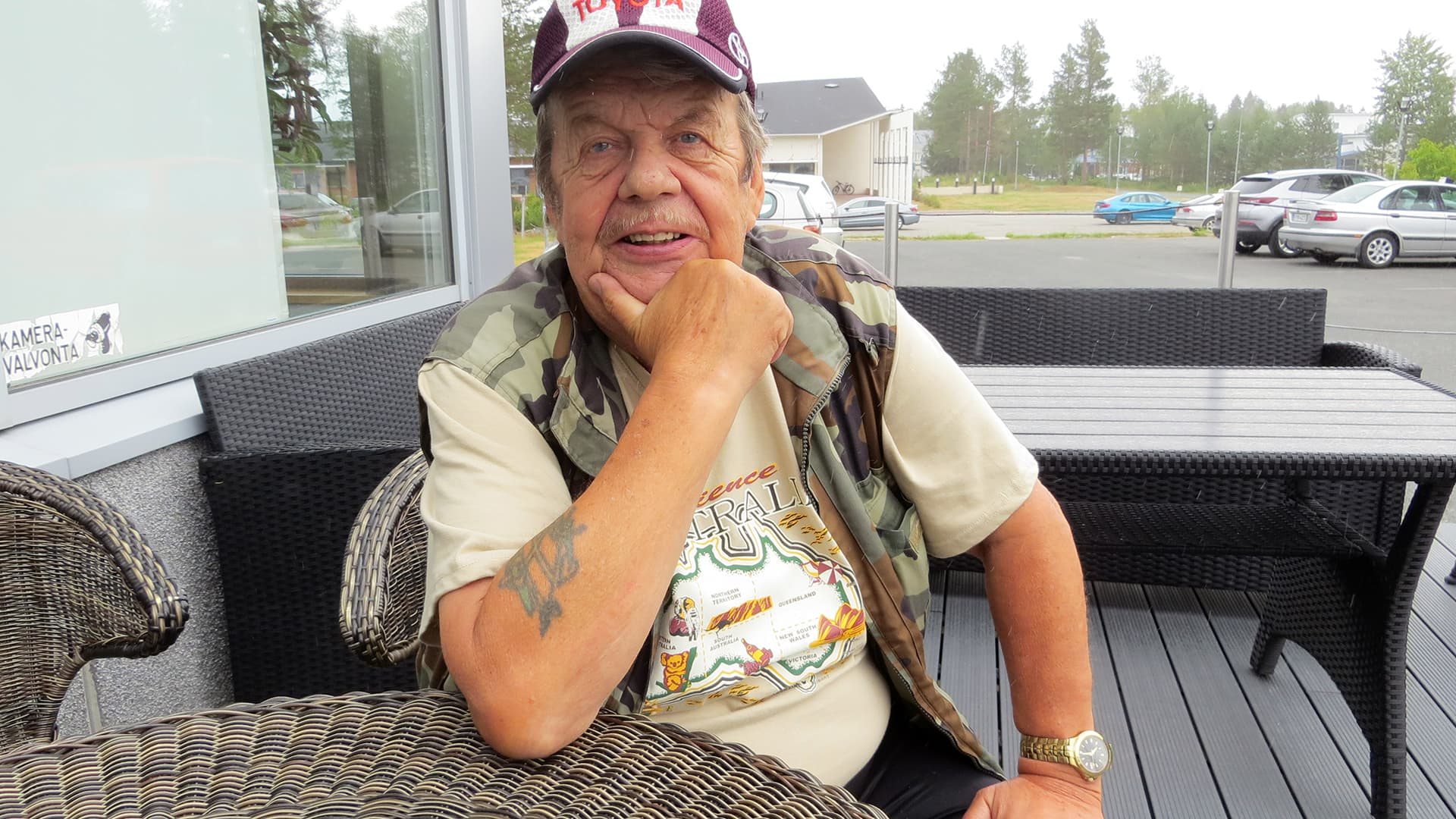 Jouko Heikkinen tunnetaan Kemin Jokkena