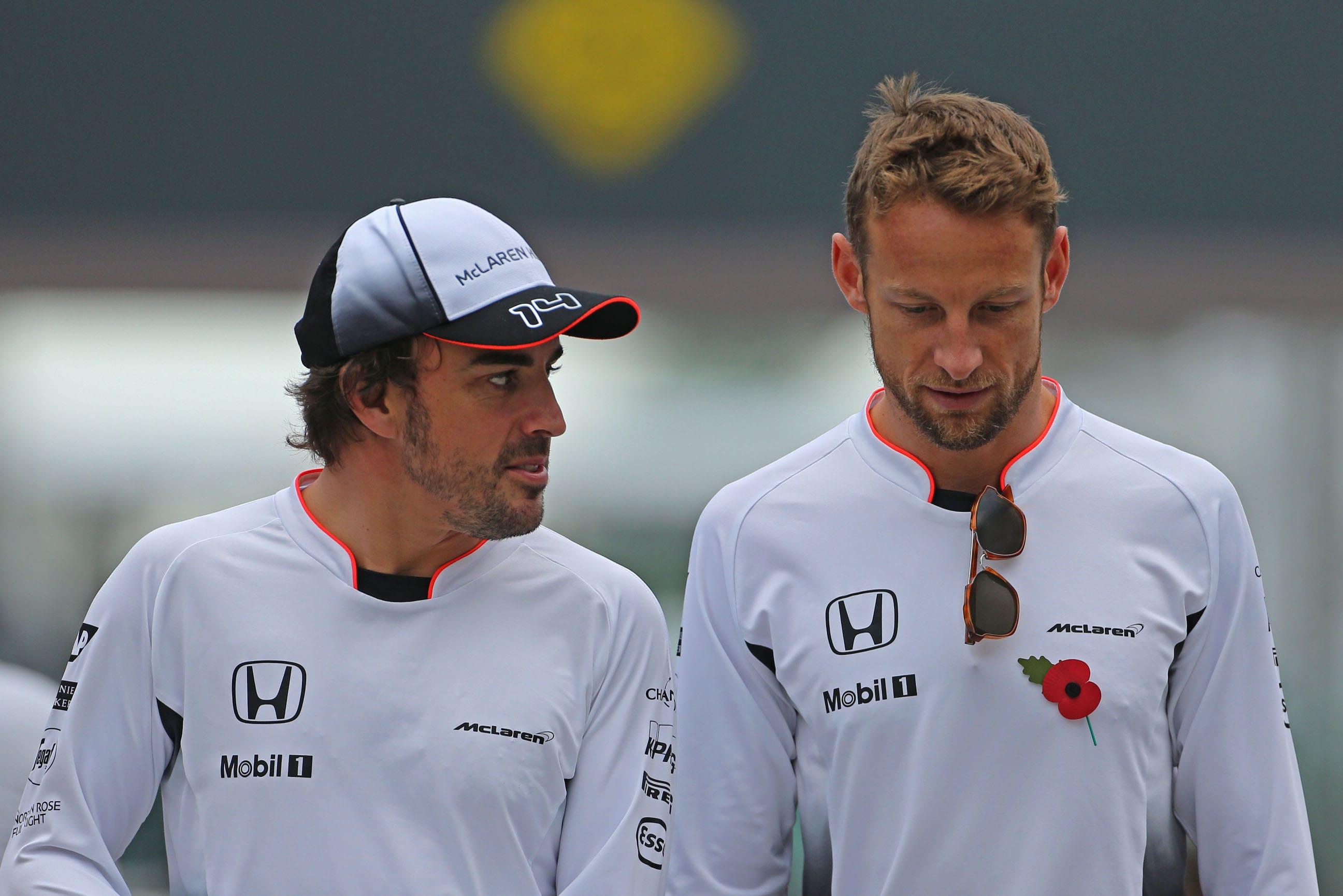 Fernando Alonso ja Jenson Button