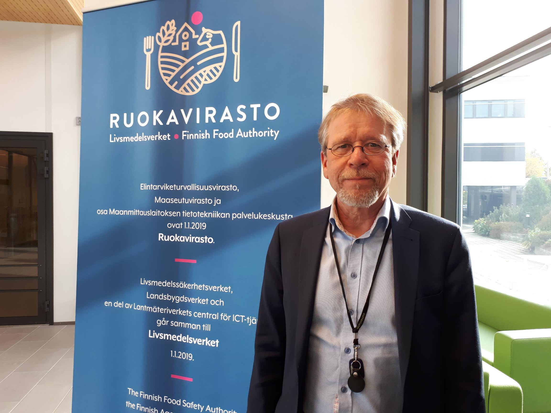 Ruokaviraston pääjohtajana 8.10.2018 aloittava Antti-Jussi Oikarinen
