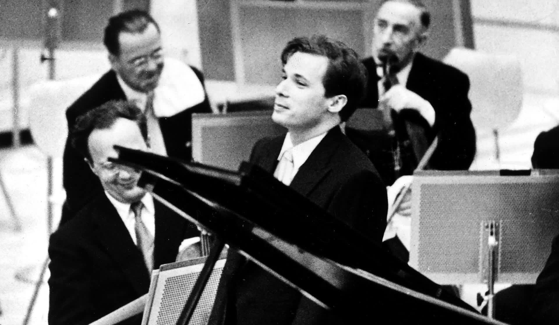 Glenn Gould konsertissa Kanadassa vuonna 1958.