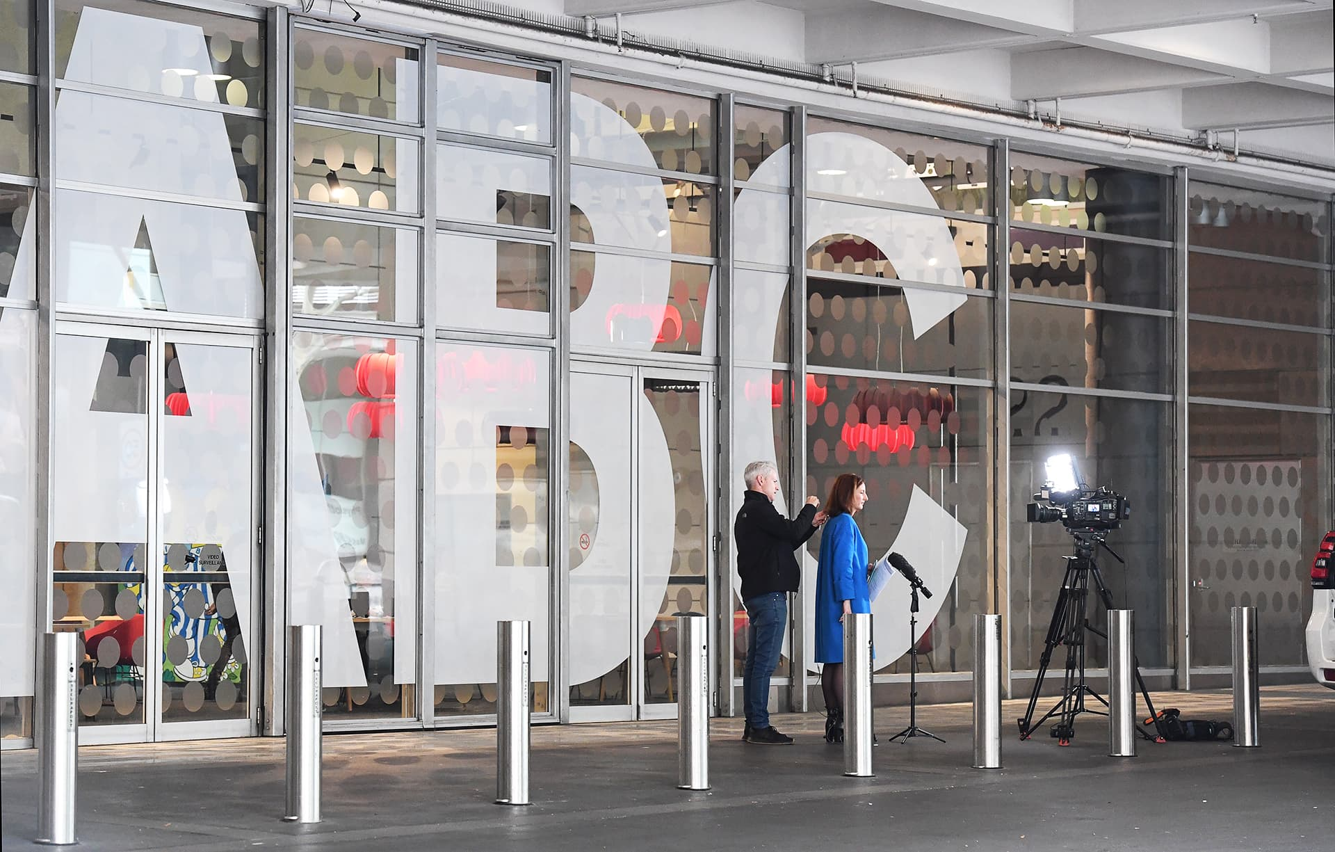 Australian yleisradioyhtiö ABC:n sisäänkäynti Sydneyssä.