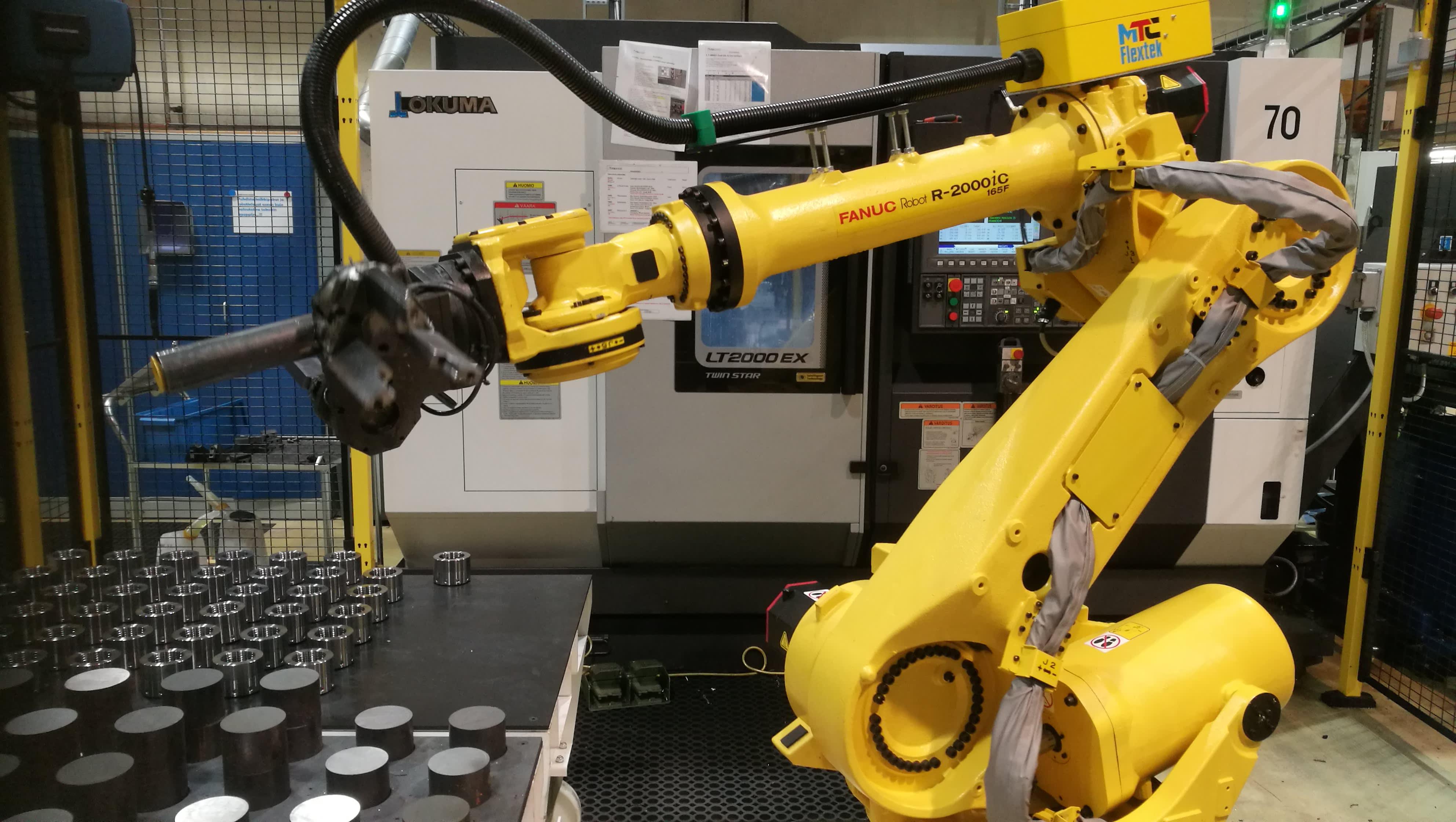 ITA Nordic ruokolahti robotiikka automaatio robotti