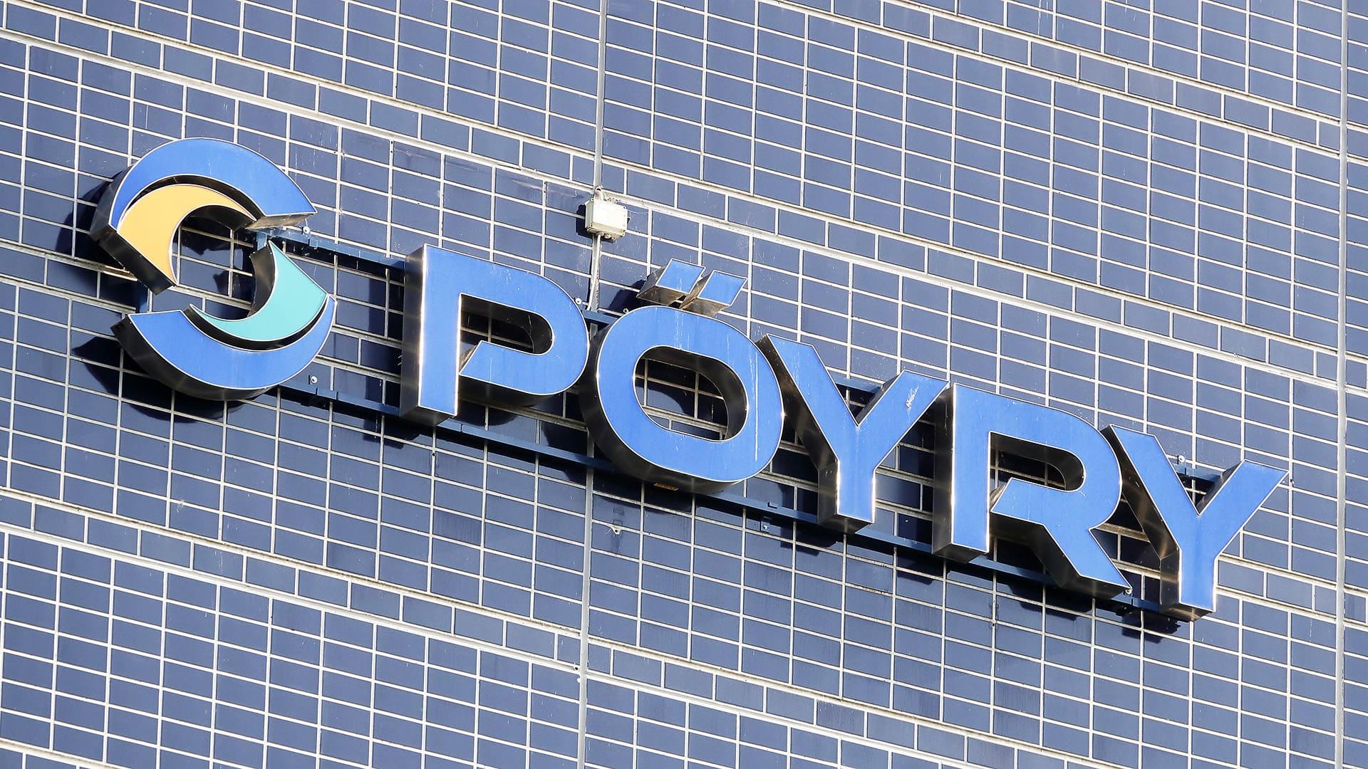 Pöyryn logo.