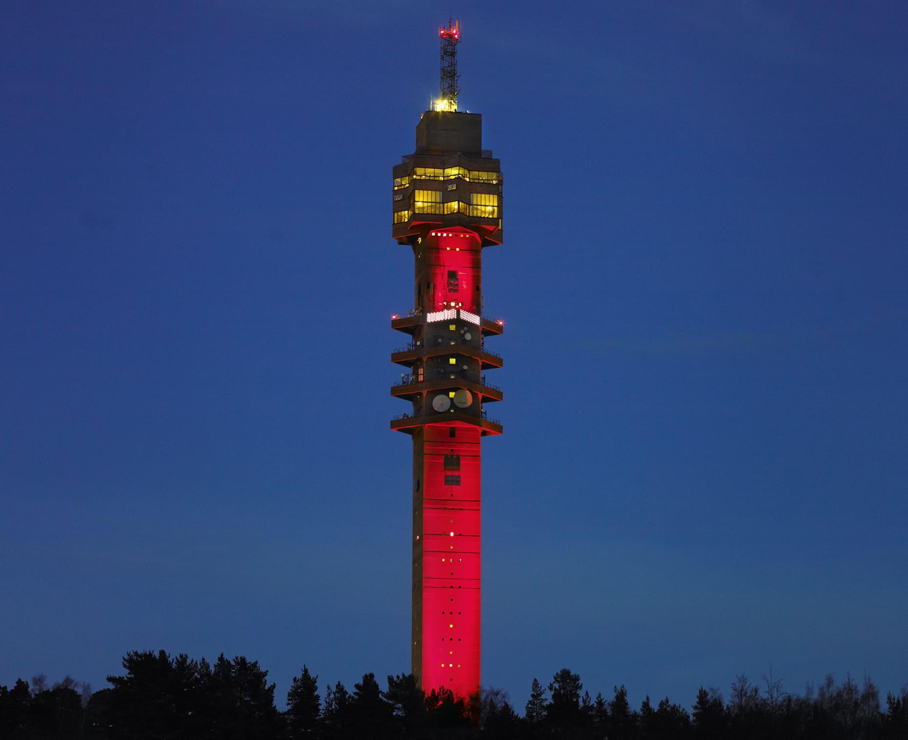 Kaknäsin torni.