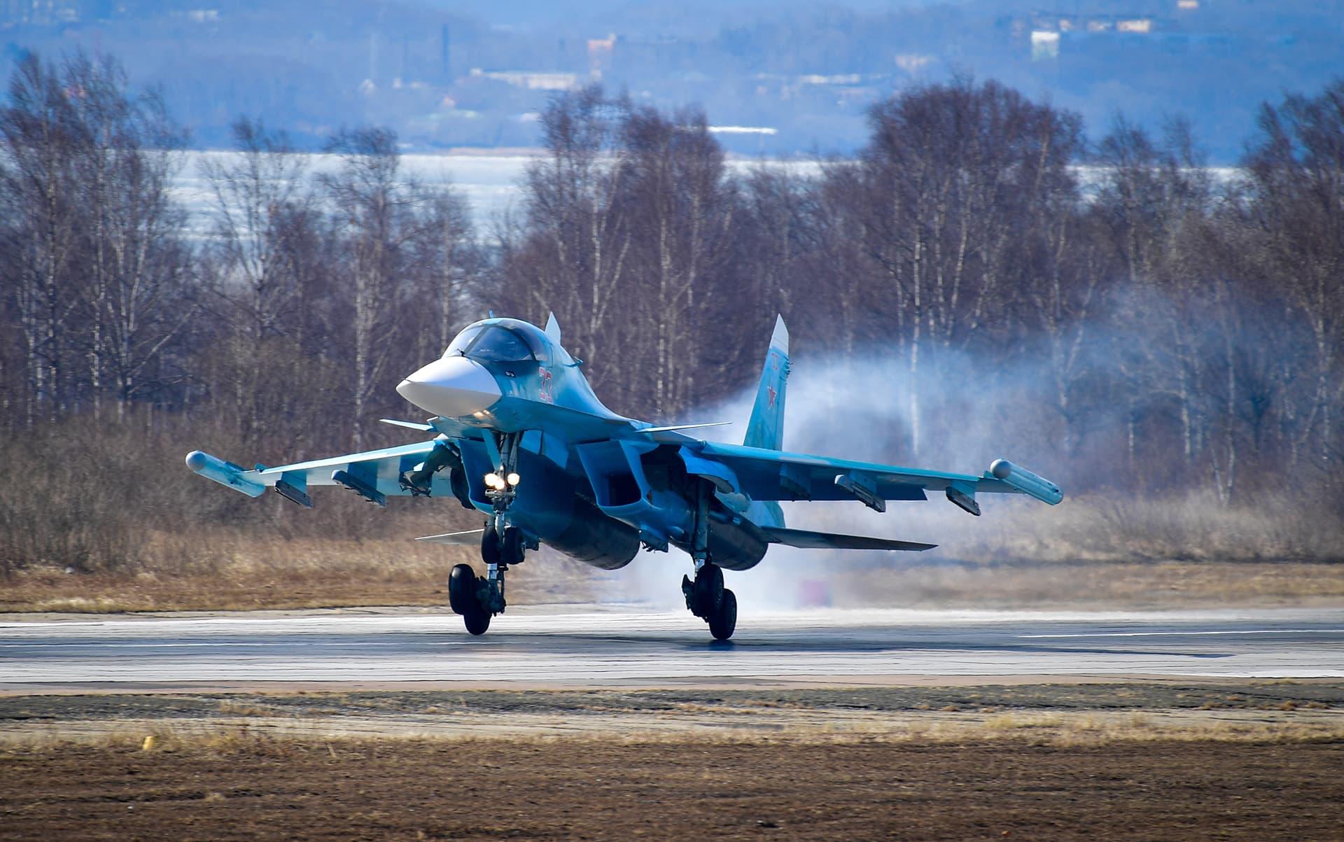 Suhoi Su-34.