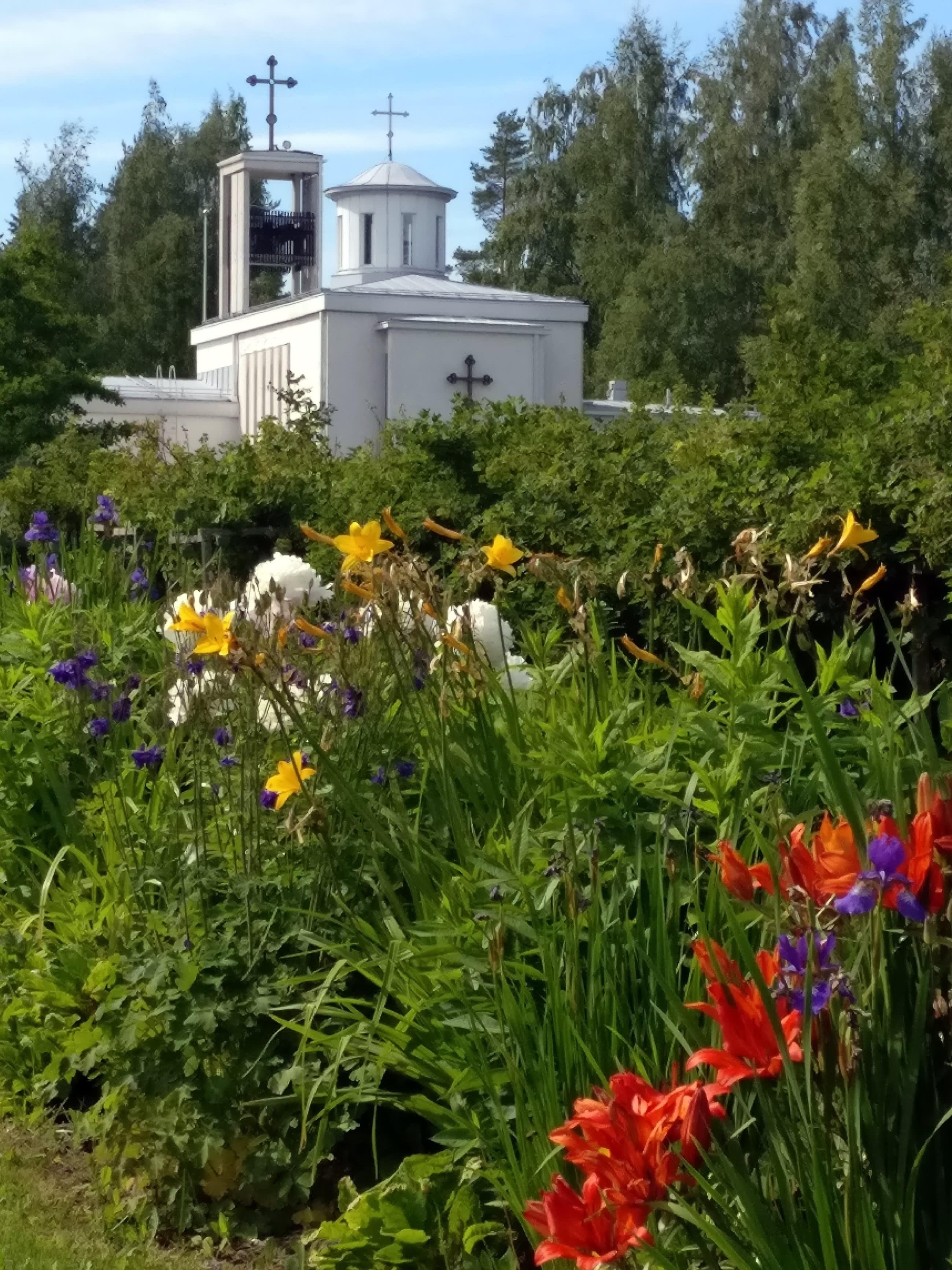 Lintulan luostari Heinävedellä.