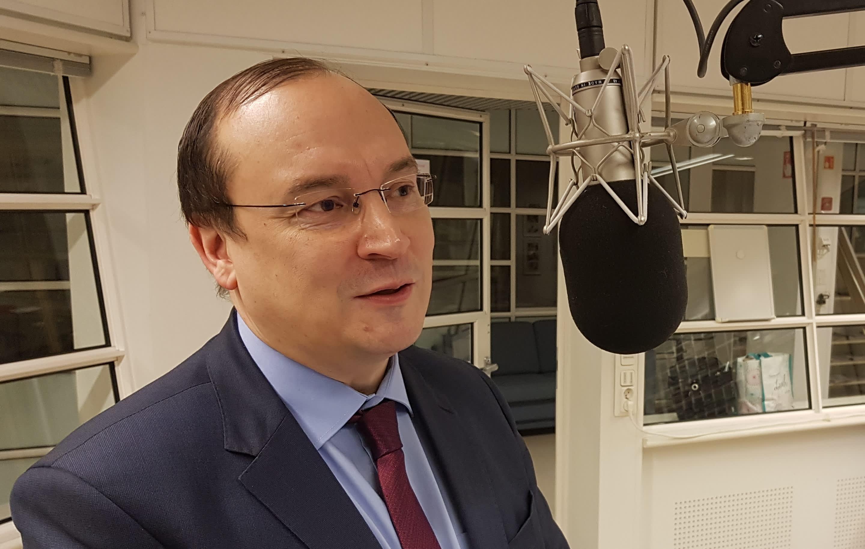 EU-komission arktisten asioiden neuvonantaja Jari Vilén
