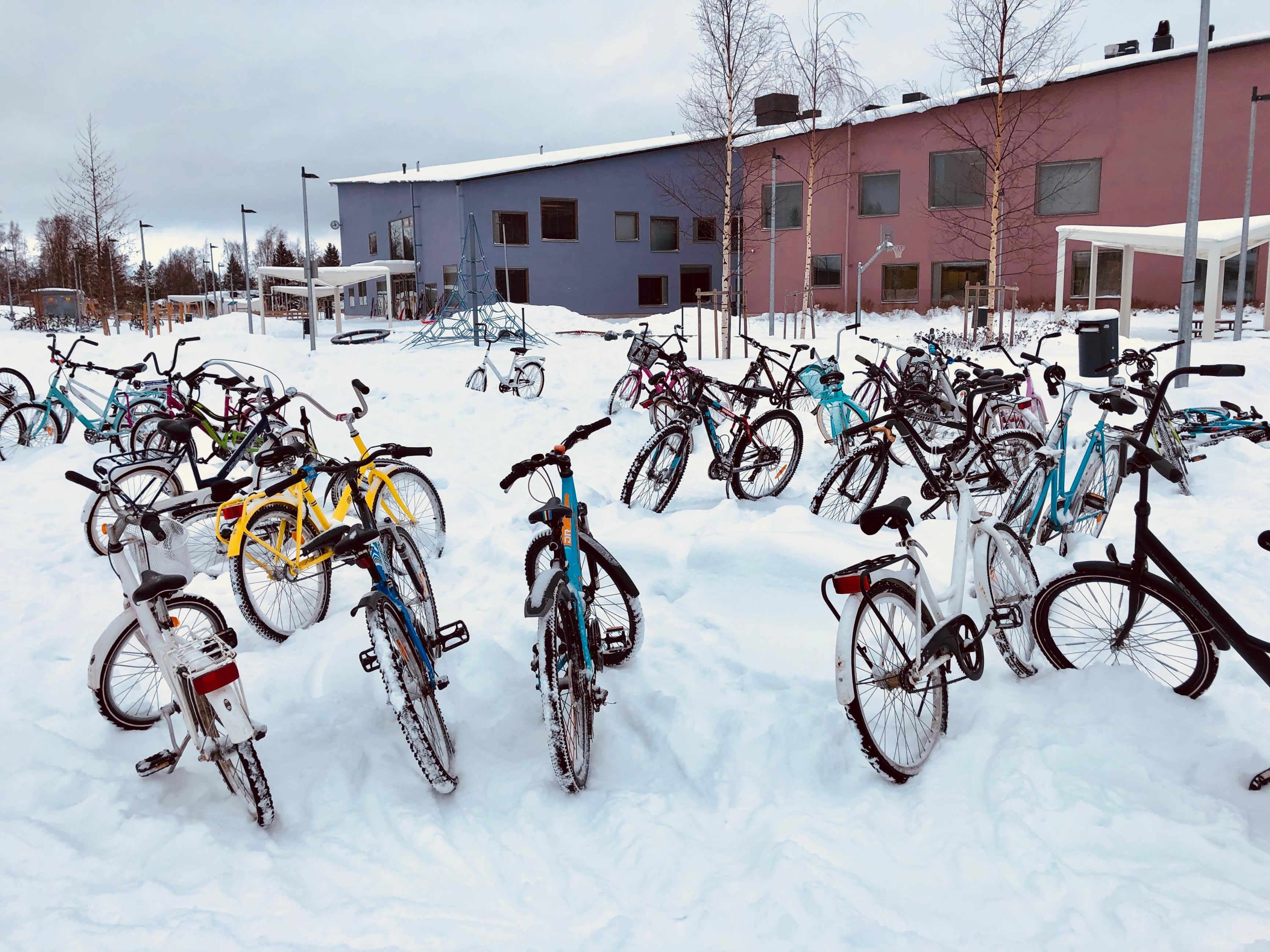 Isokylän koulu Kokkolassa.