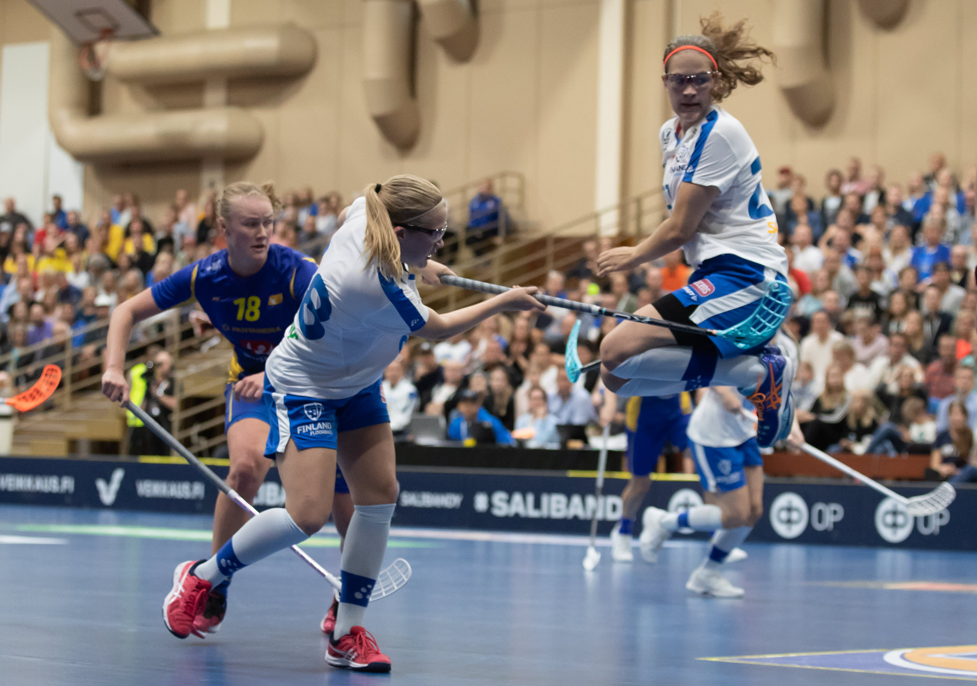 Veera ja Oona Kauppi pelasivat loistavat MM-kisat 2017.