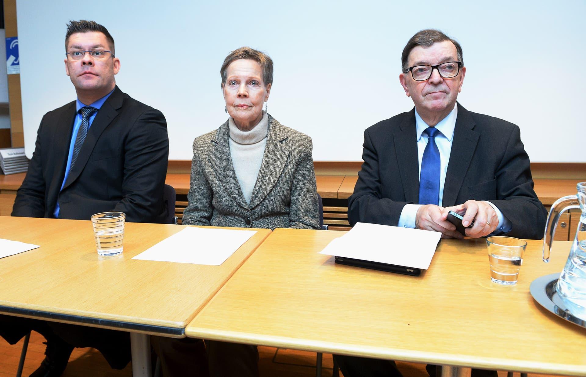 Tähtiliikkeen Paavo Väyrynen kertoi Ilja Janitskinin ja Pirkko Turpeinen-Saaren olevan liikkeen ehdokkaat eduskunta- ja eurovaaleissa.