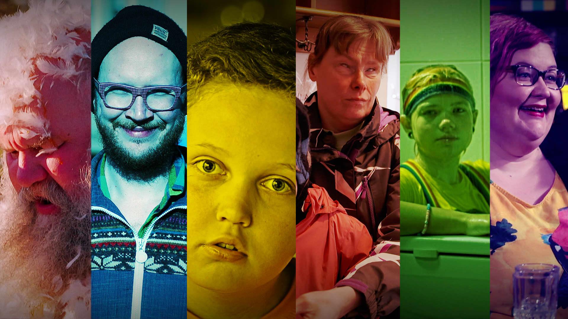 Perjantain vieraana nähdään 1. maaliskuuta Kari Tykkyläinen, Marzi Nyman, Eric Iljin, Meeri Korte, Mesi Kissaniitty ja Tinna Pehkonen.