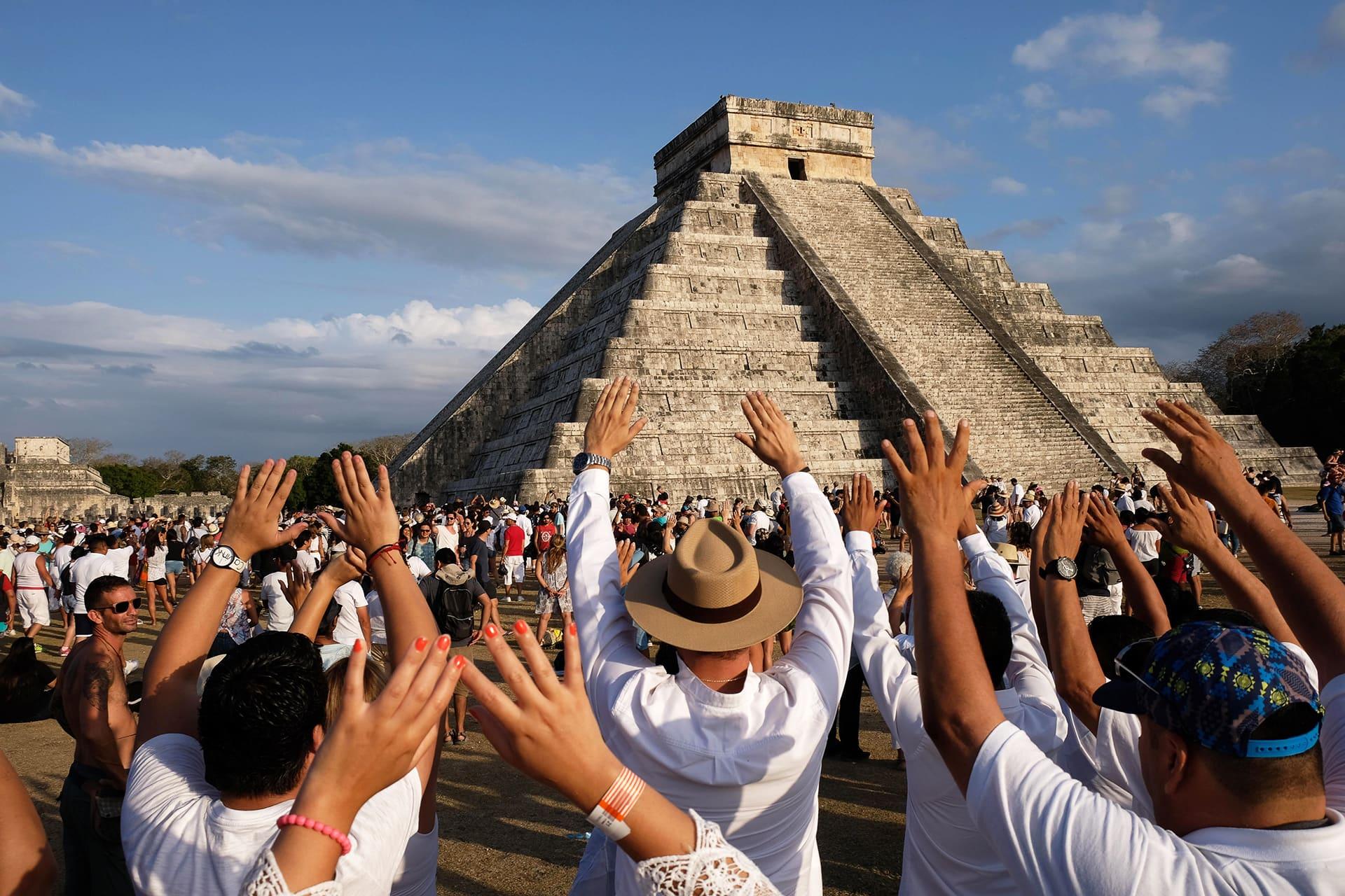 Chichen Itzan pyramidi