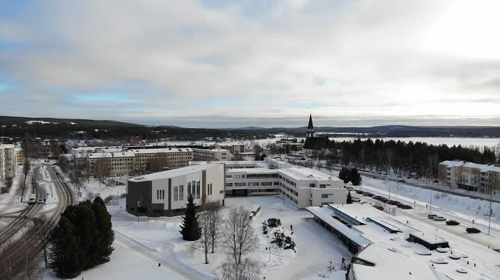 Rovaniemen kaupungintalo.