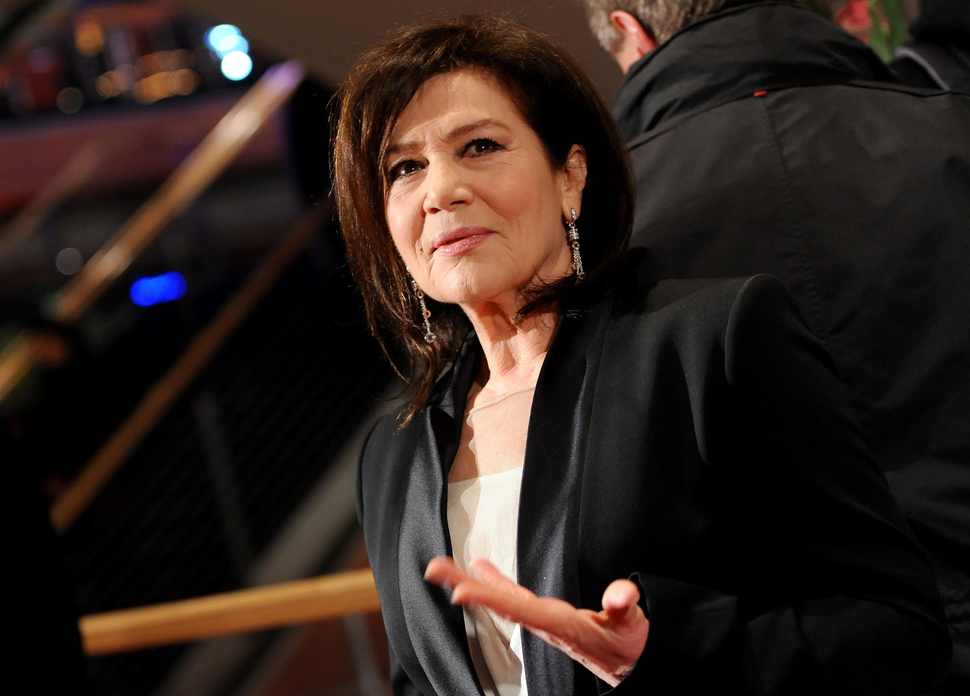 Näyttelijä Hannelore Elsner Berliinin elokuvajuhlilla vuonna 2013.