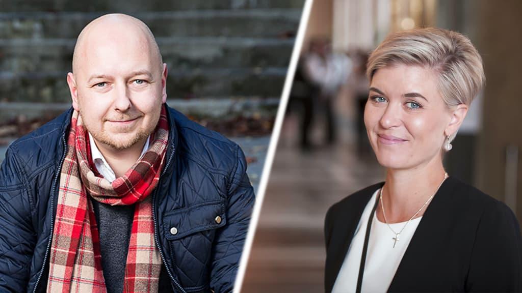 Joona Räsänen ja Susanna Koski
