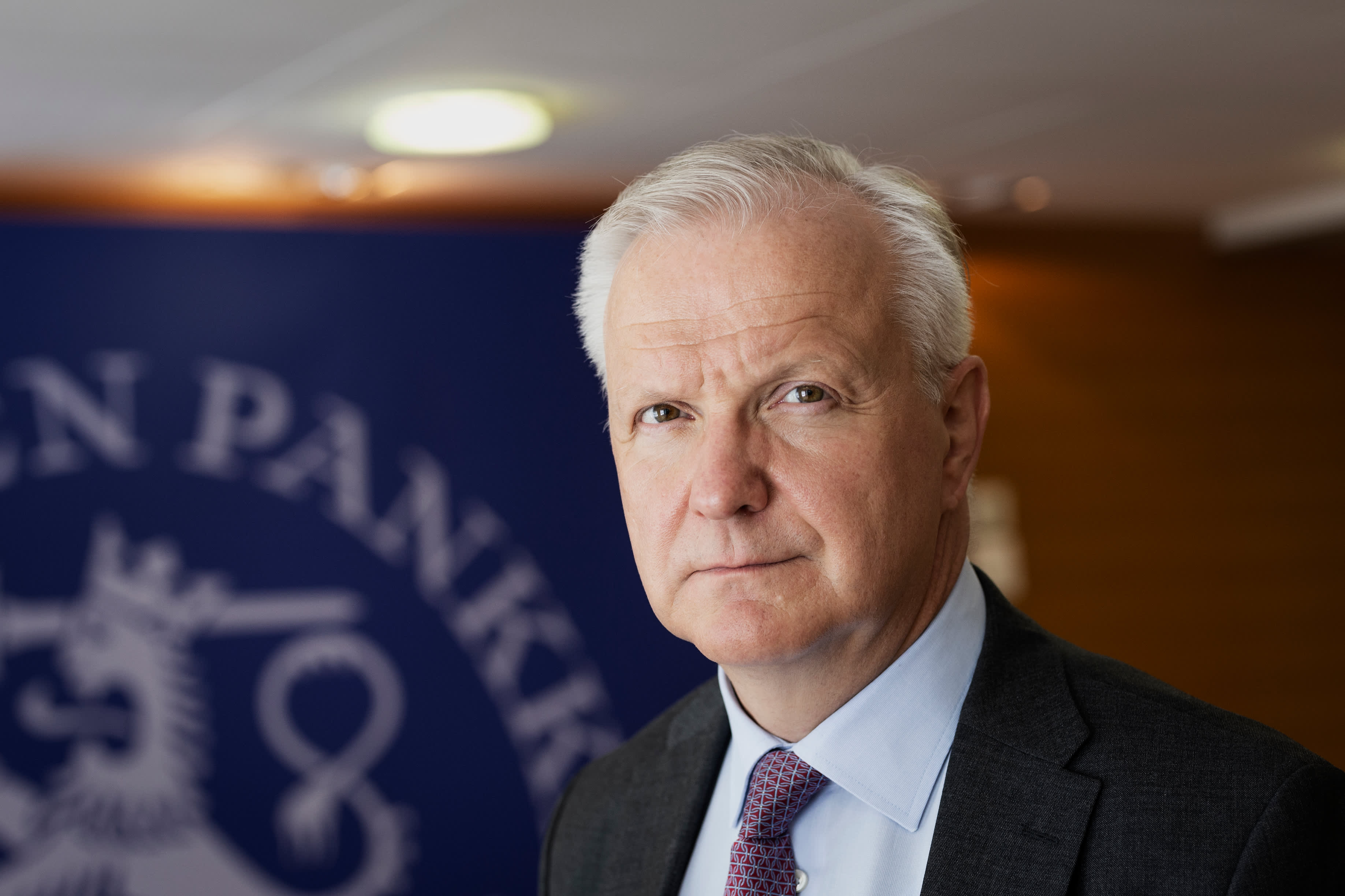 Suomen Pankin pääjohtaja Olli Rehn