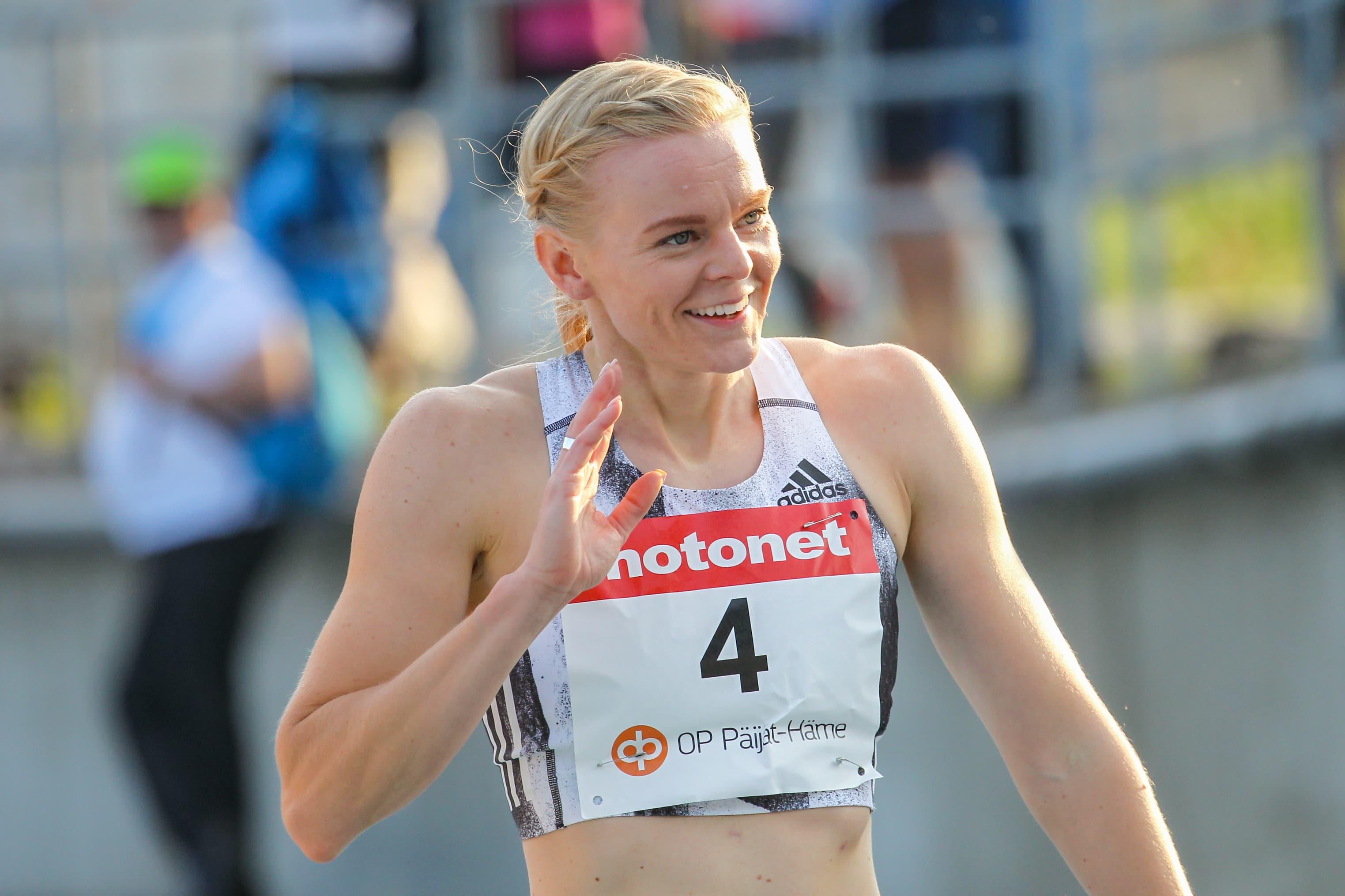 Hanna-Maari Latvalan juoksu on palaamassa urilleen.