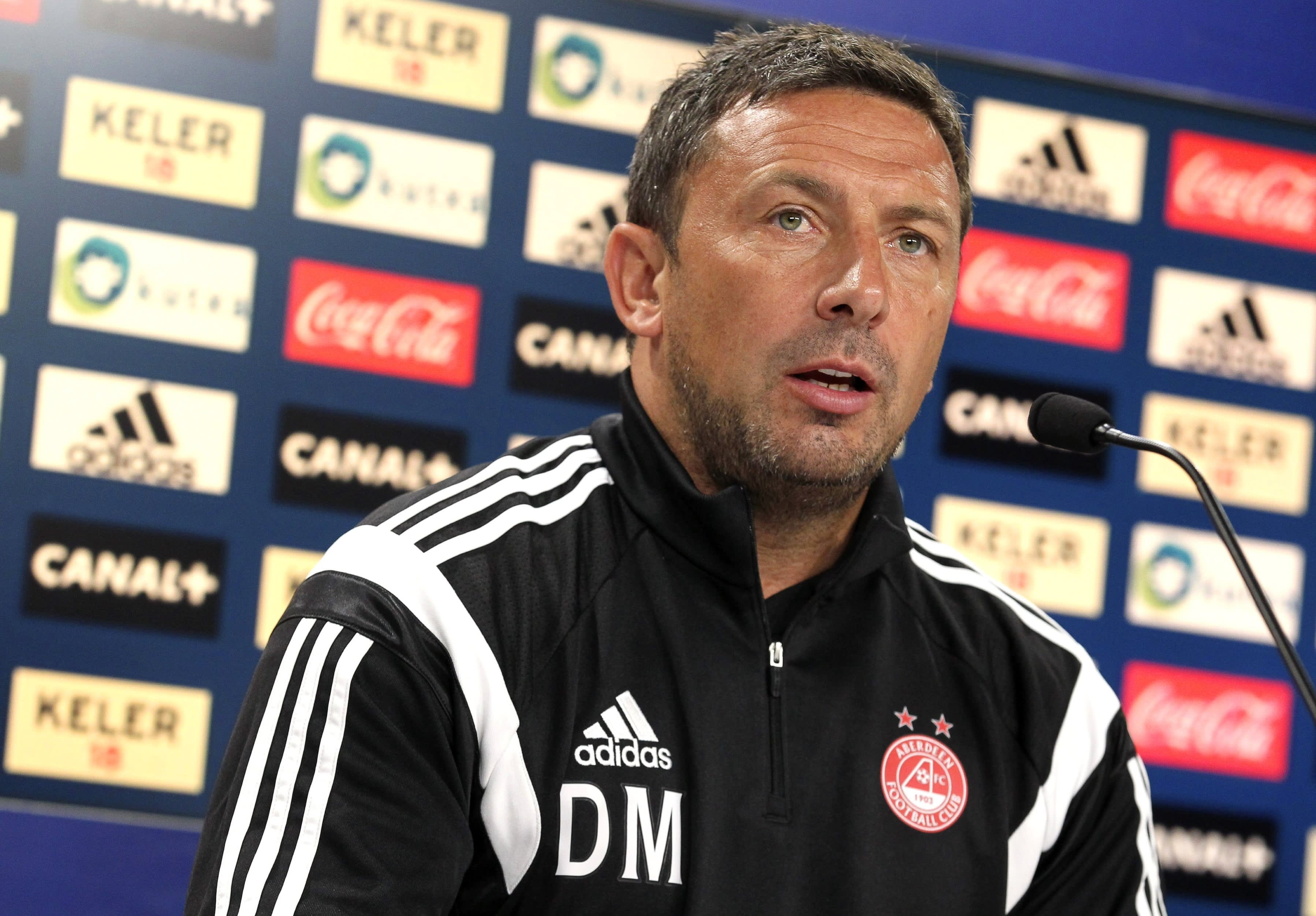 Aberdeen FC:n valmentaja Derek McInnes