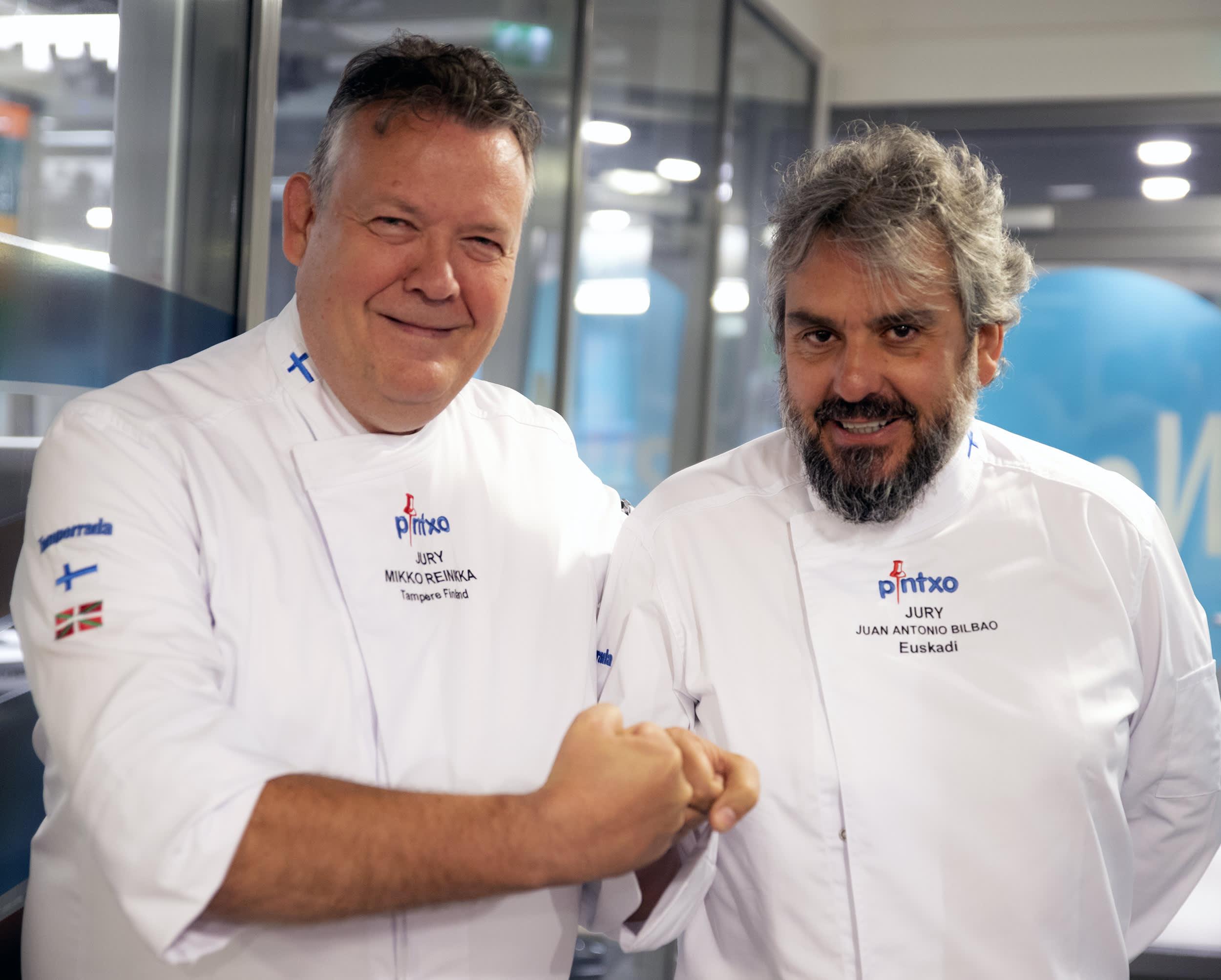 MIkko Reinikka ja Juan Antonio Bilbao