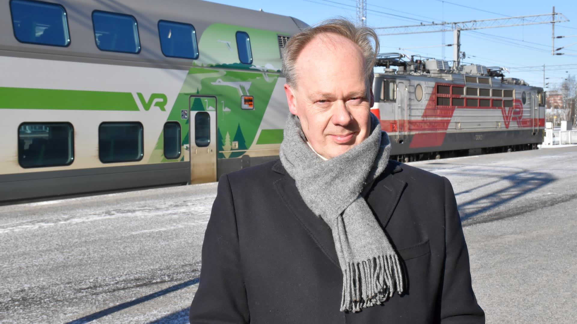 Aluekehityksen asiantuntija Timo Aro.