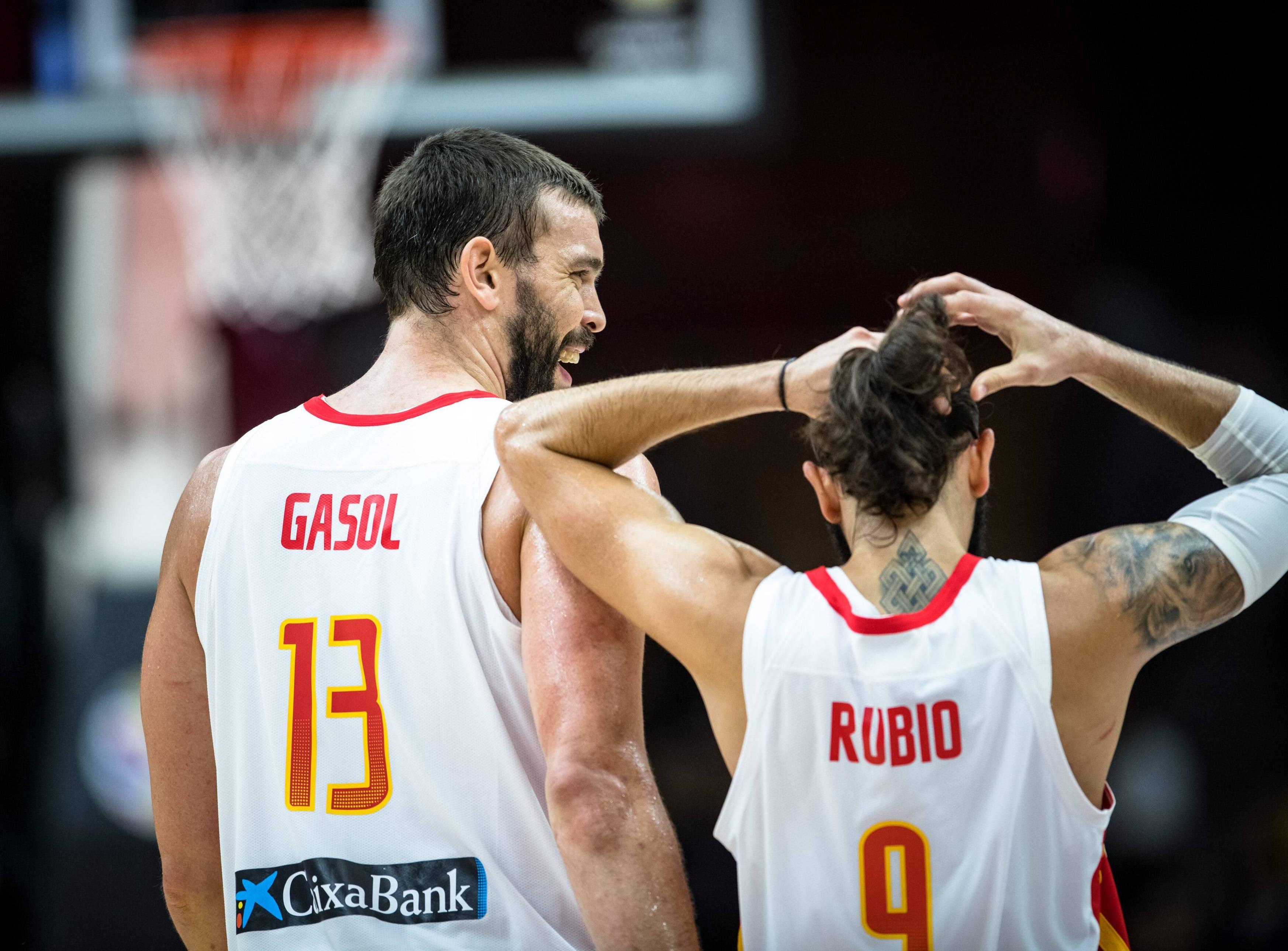 Marc Gasol ja Ricky Rubio