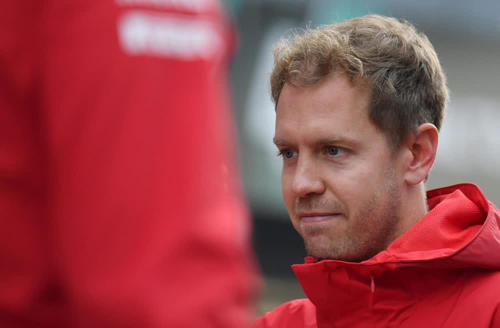 Sebastian Vettel kuvassa