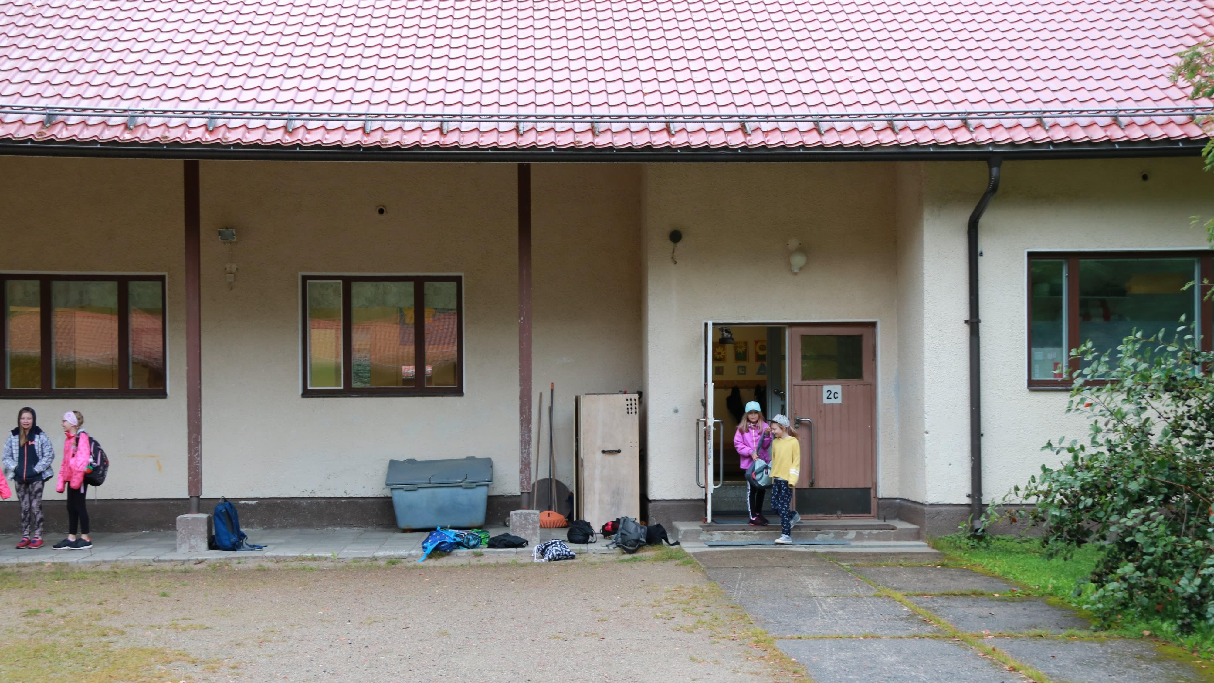 Lylykosken kyläkoulu.