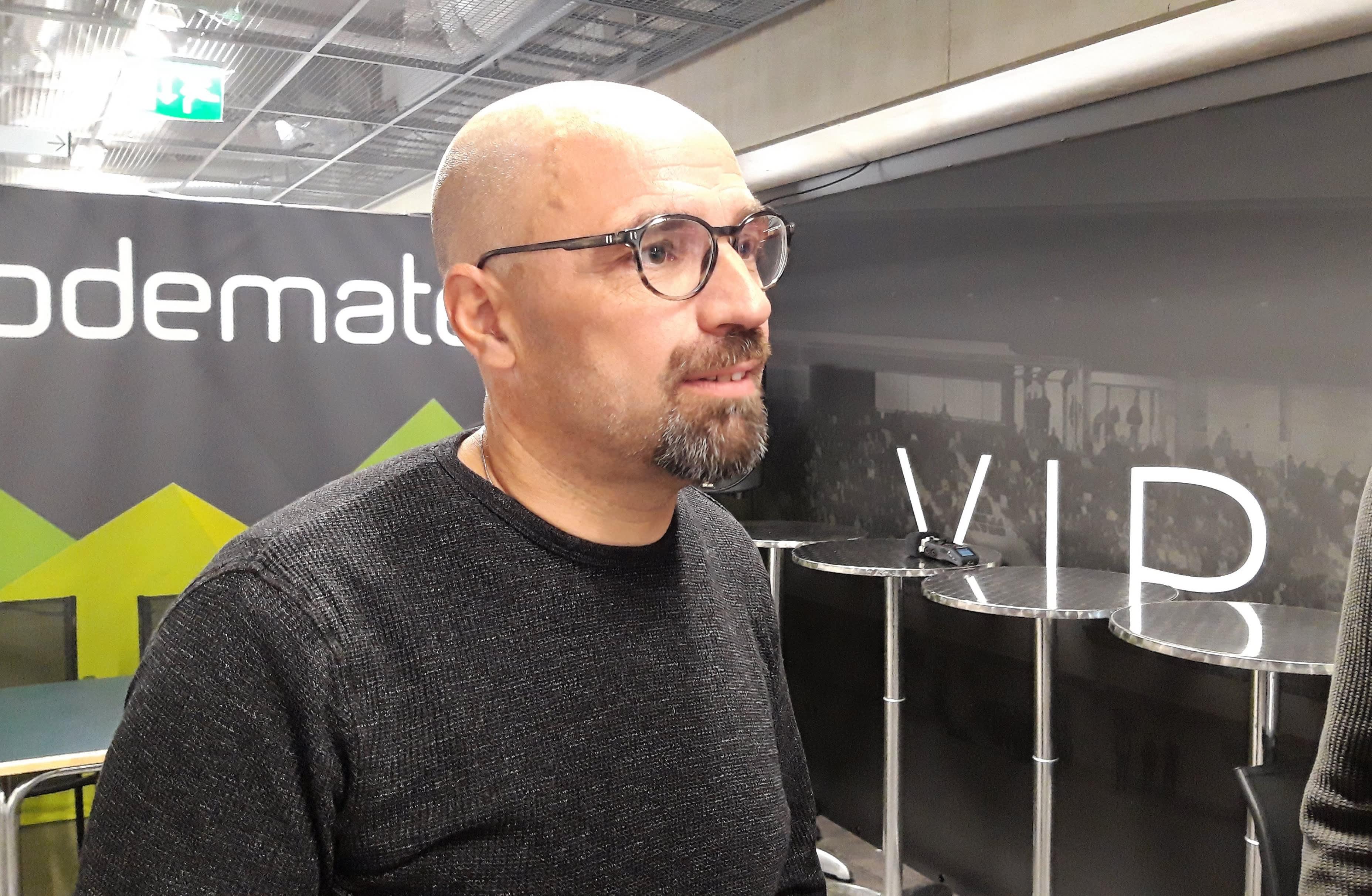 AC Oulun päävalmentaja Jyrki Ahola.