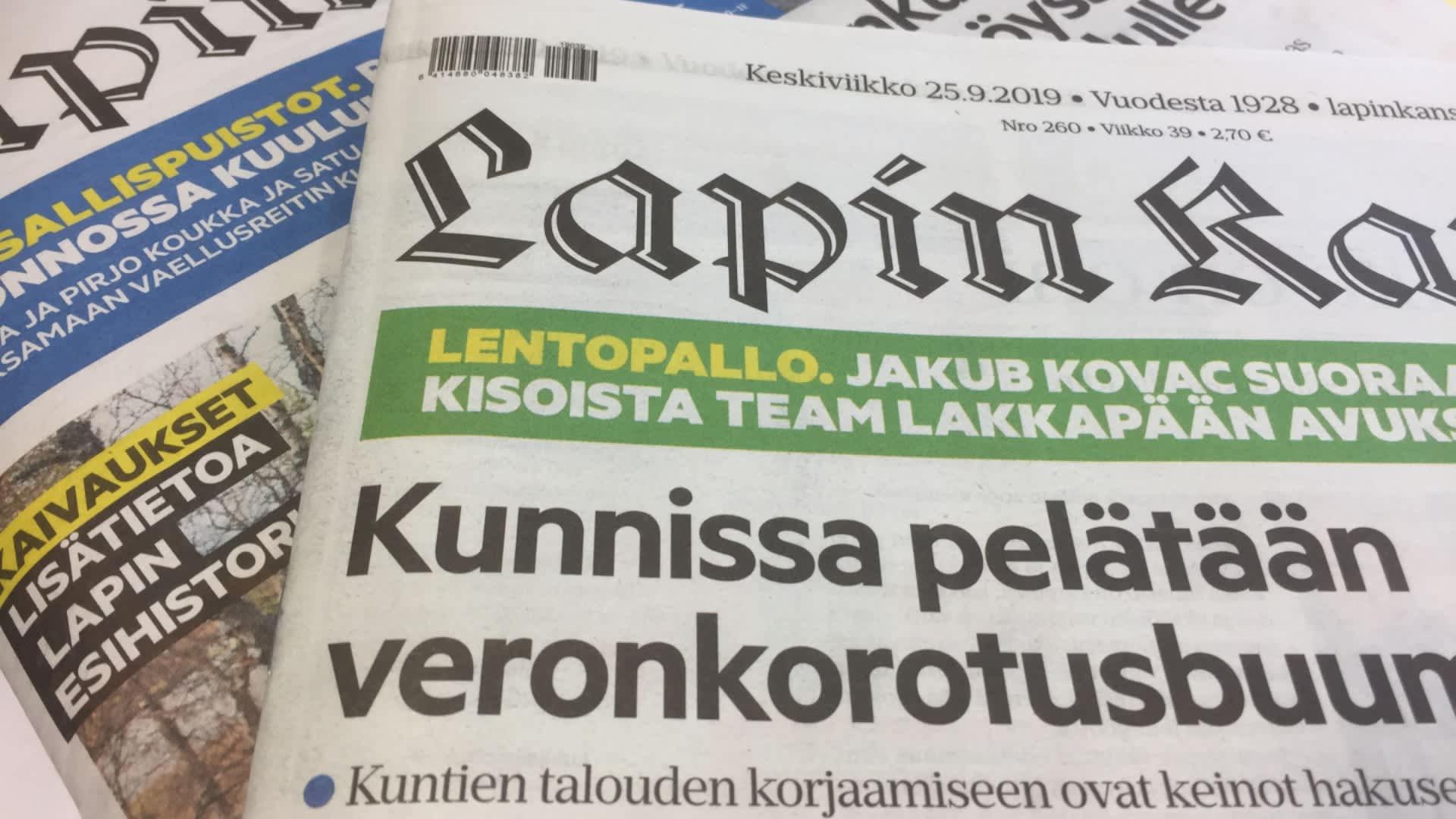 Lapin Kansa, lehti yt:t