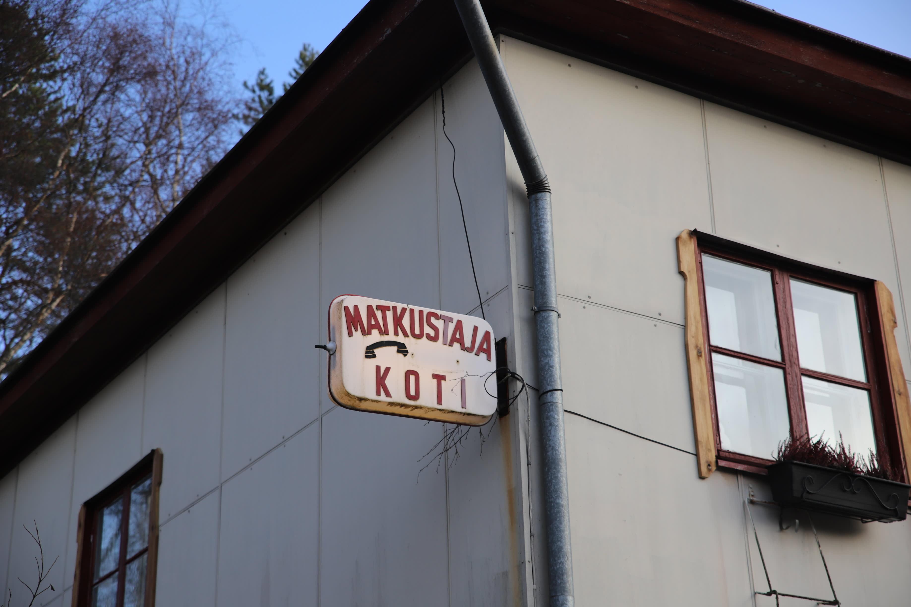 matkustajakoti Rauhala, Myllykoski