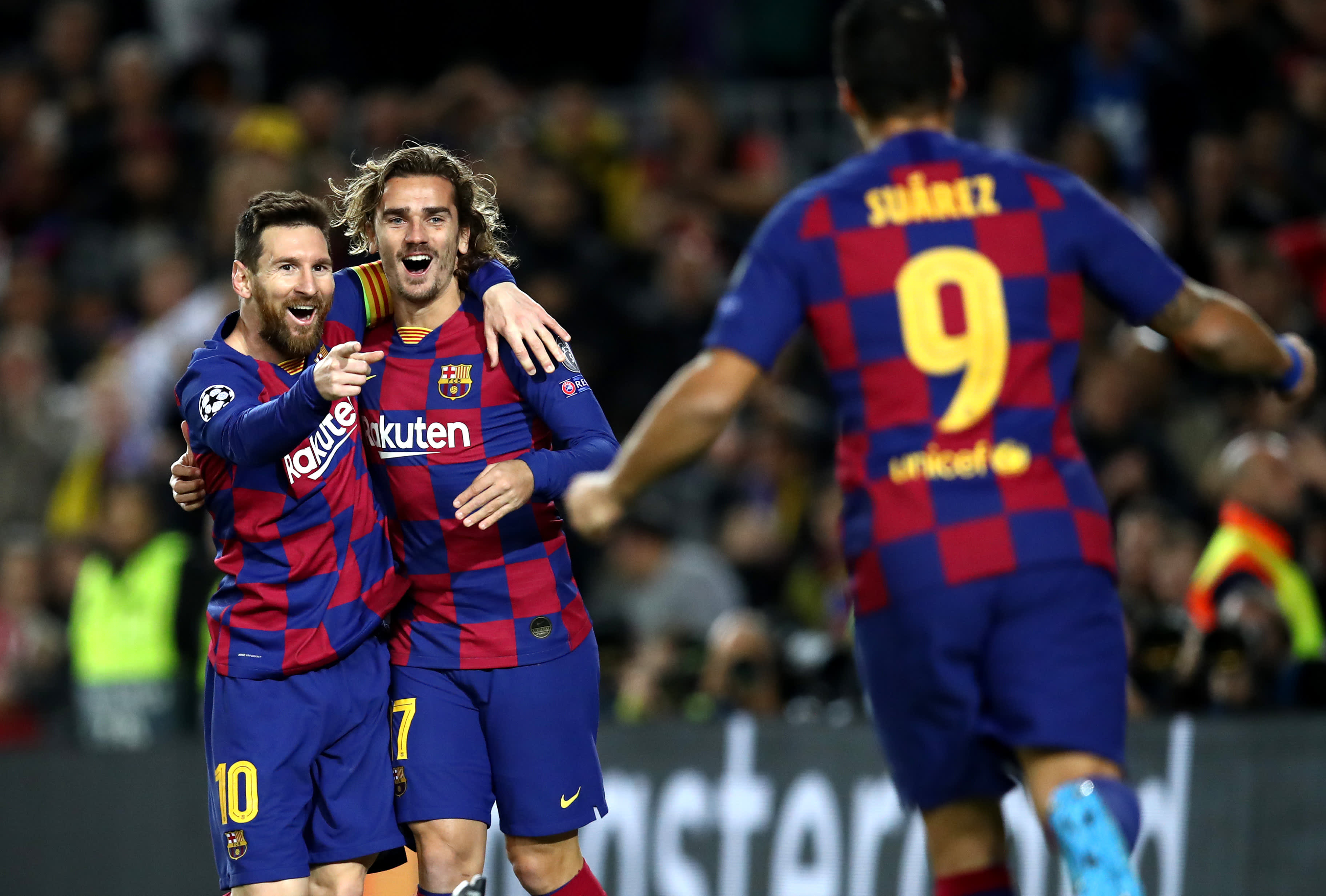 Messi Griezmann Suarez