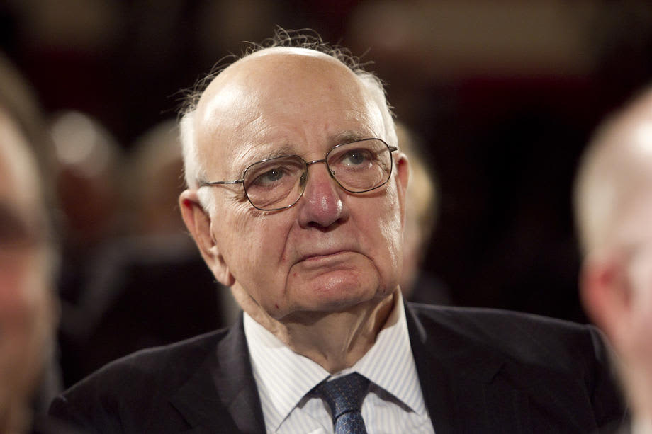 Paul Volcker oli Yhdysvaltain keskuspankin johtaja.