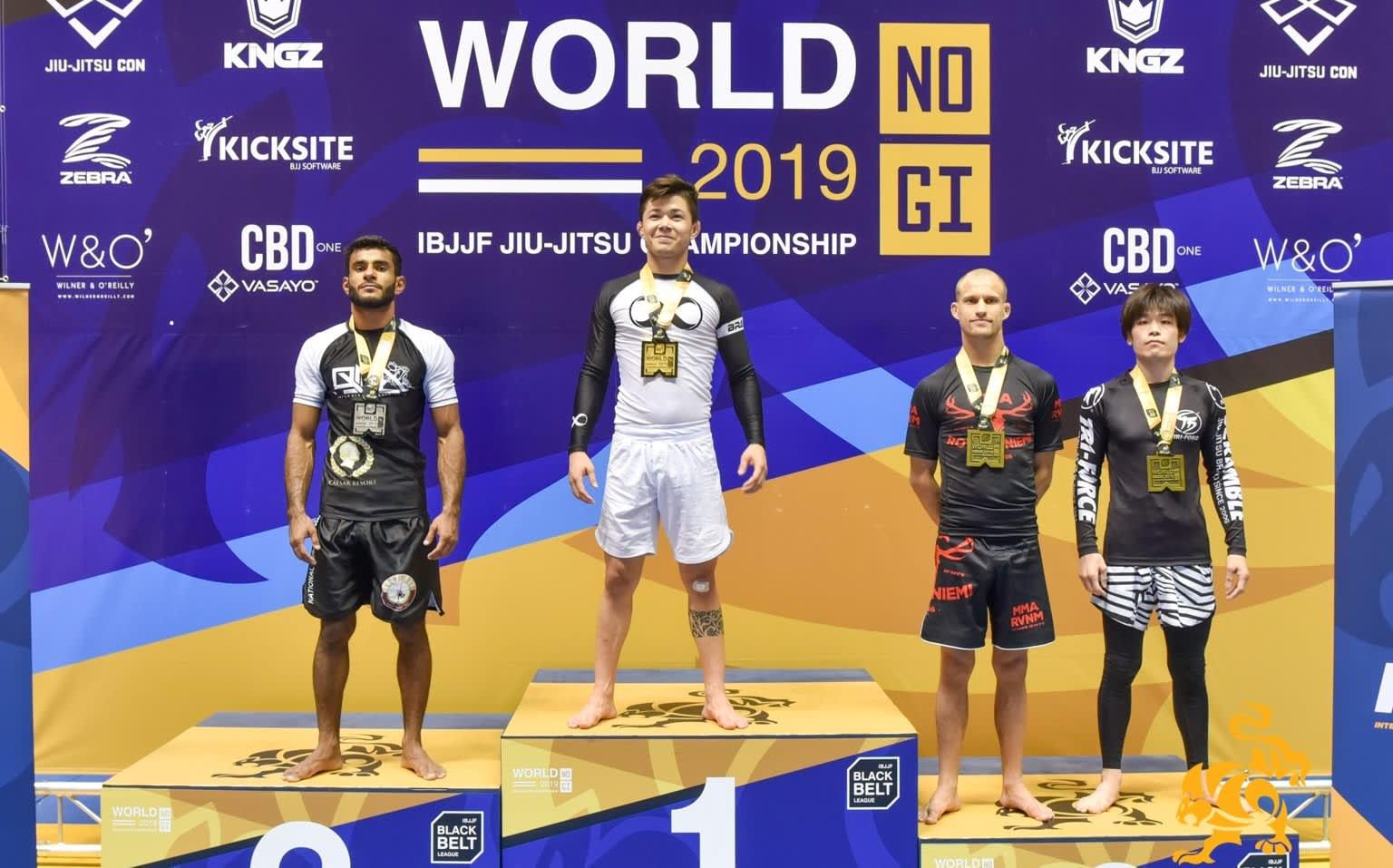 Rovaniemeläinen Marko Oikarainen otti pronssia brasilialaisen jiu-jitsun MM-kisoissa Los Angelesissa.