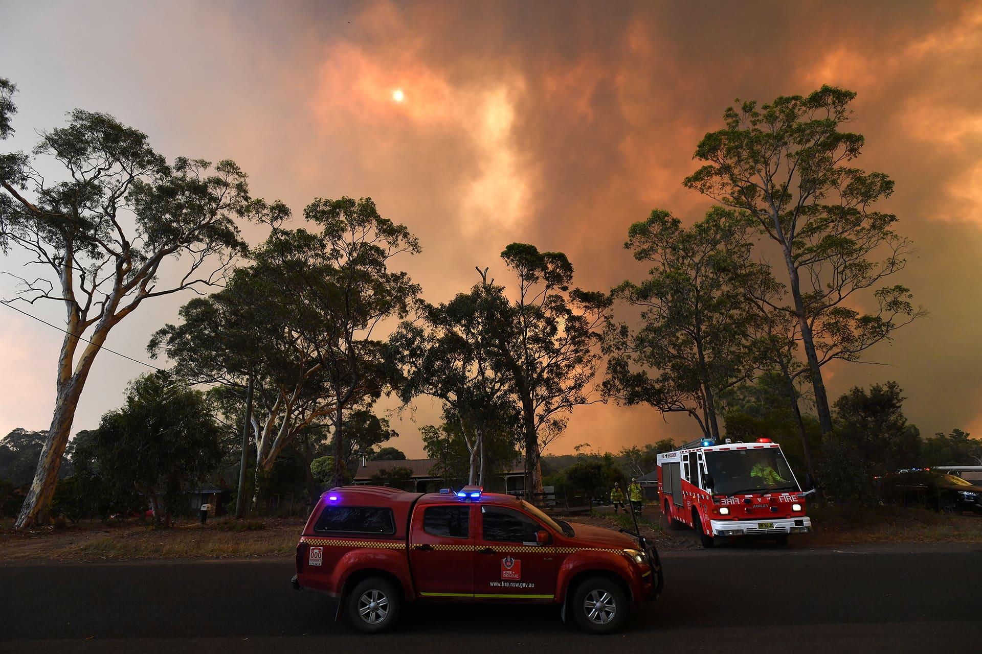 Pensaspalot New South Walesissa.