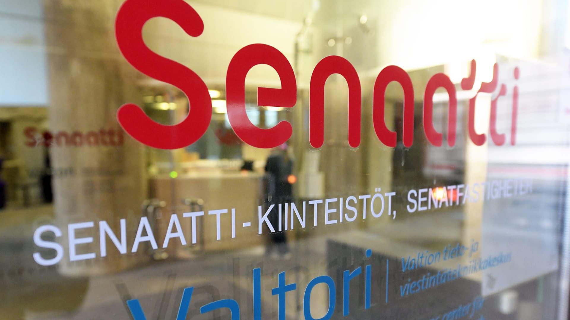 Senaatti-kiinteistön tilat kuvattuna Helsingissä toukokuussa 2018.