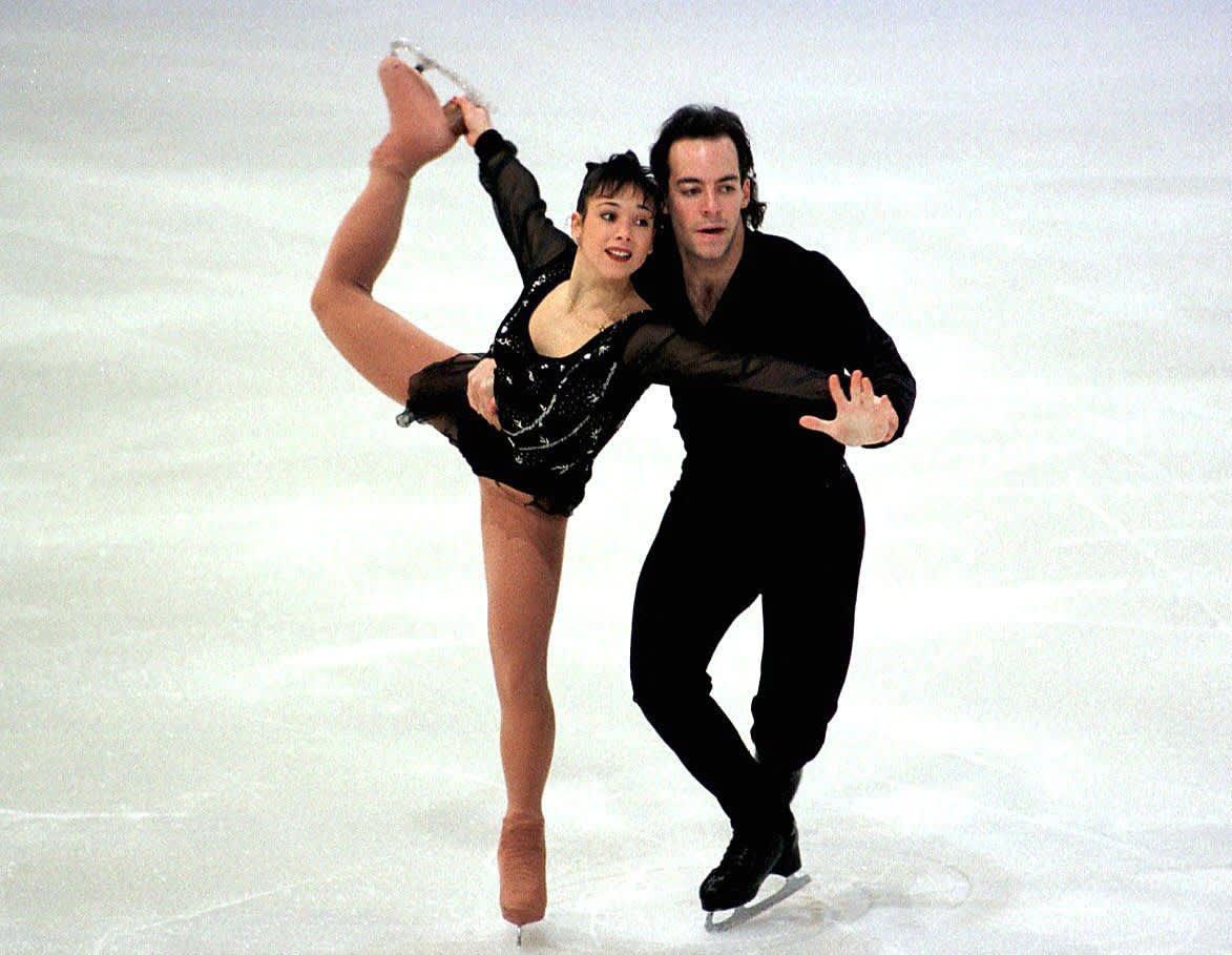 Sarah Abitbol ja Stephane Bernadis