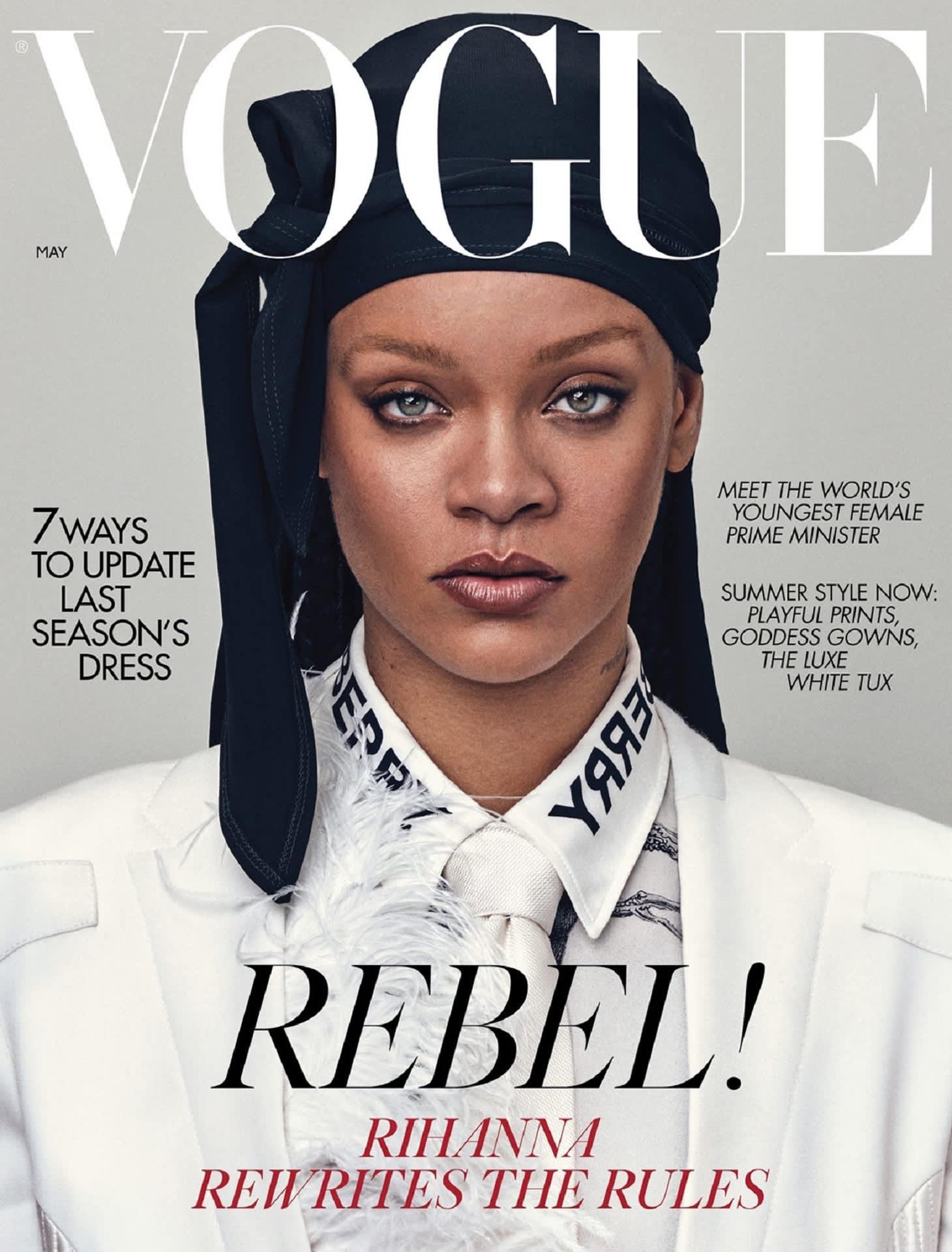 British Vogue, Rihanna, Sanna Marin