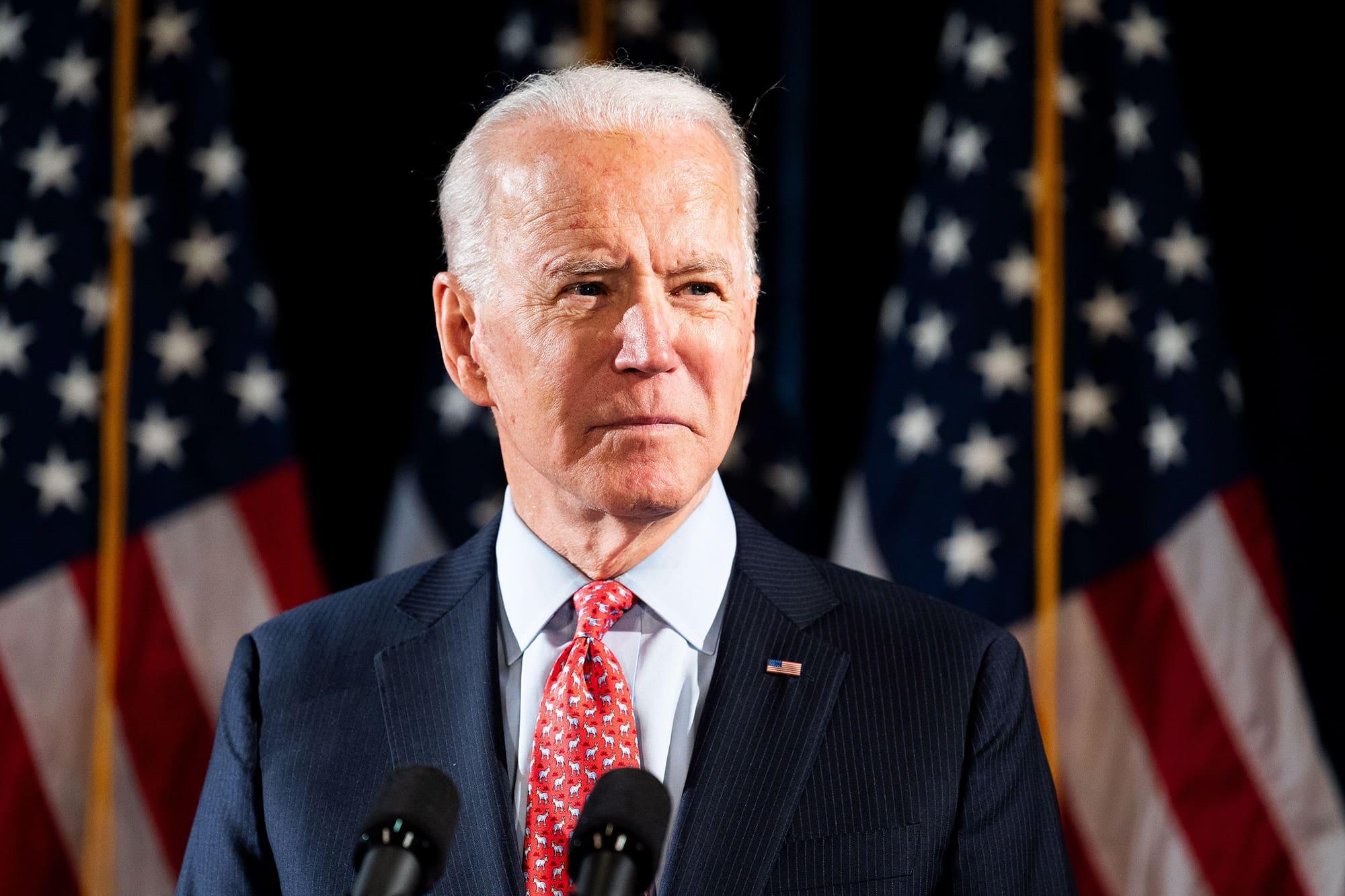 Presidenttiehdokas Joe Biden